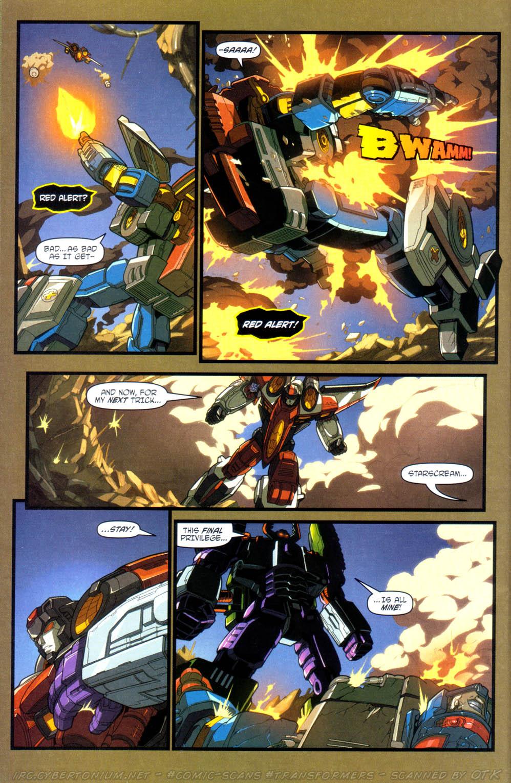 Read online Transformers Armada comic -  Issue #15 - 19