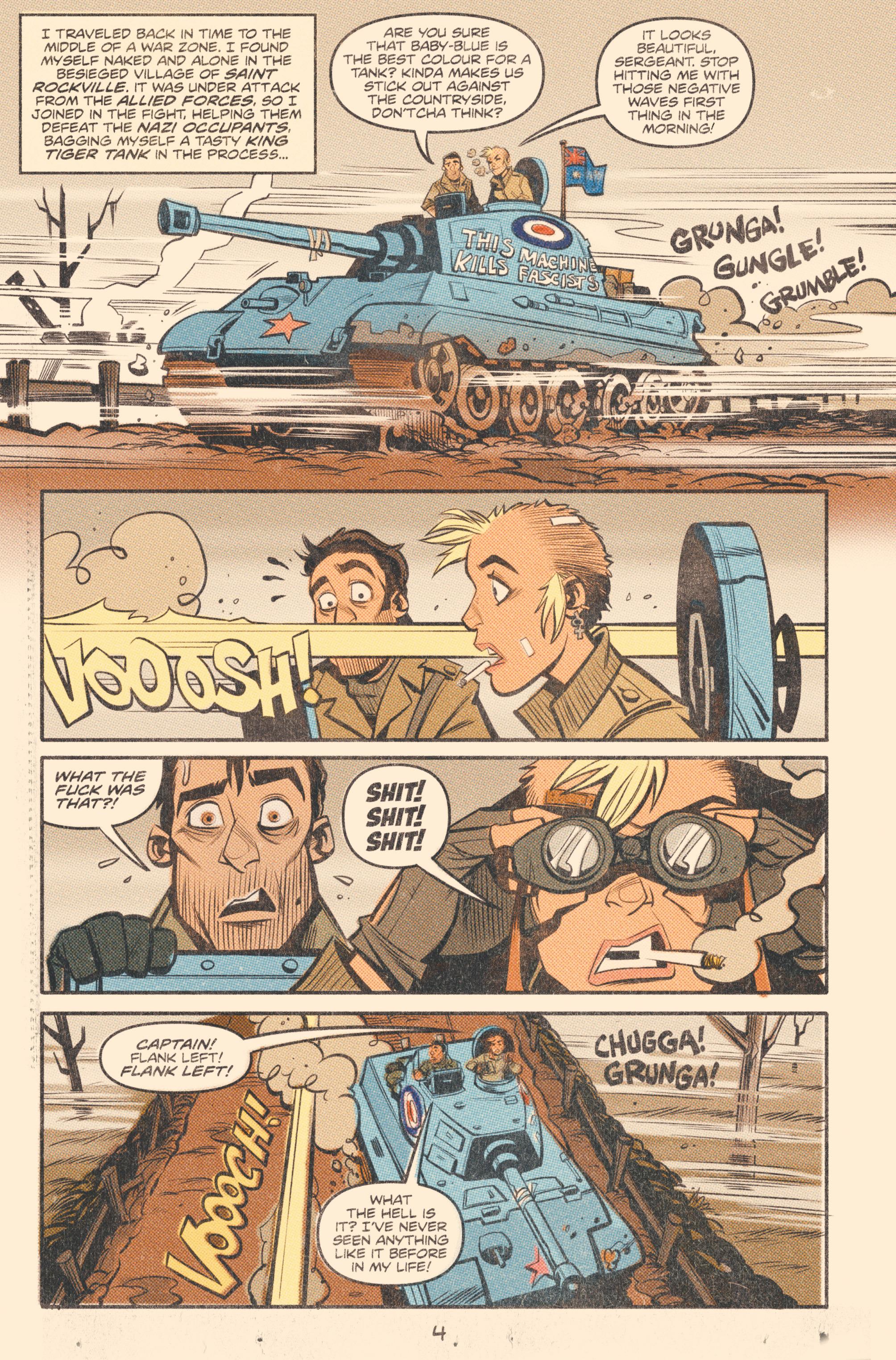 Read online Tank Girl: World War Tank Girl comic -  Issue #2 - 6