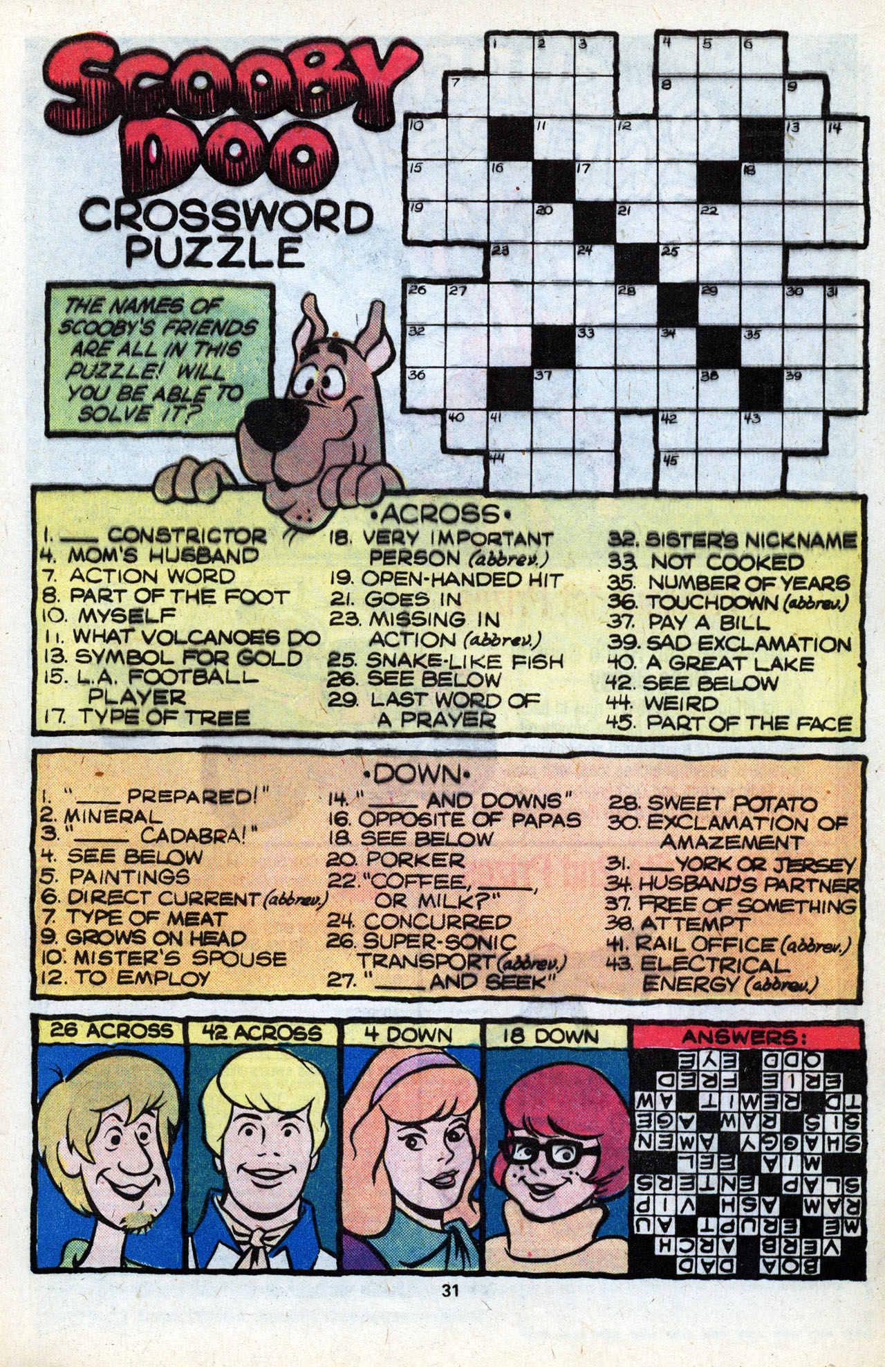 Read online Scooby-Doo (1977) comic -  Issue #7 - 33
