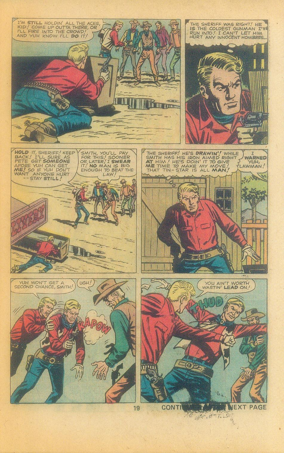 Kid Colt Outlaw issue 197 - Page 21