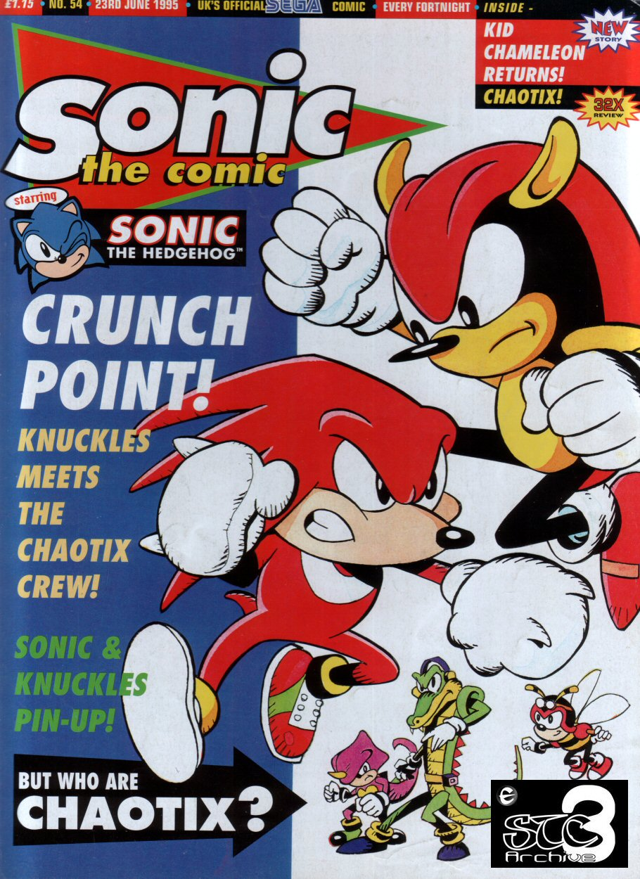 Read online Sonic the Comic comic -  Issue #54 - 1