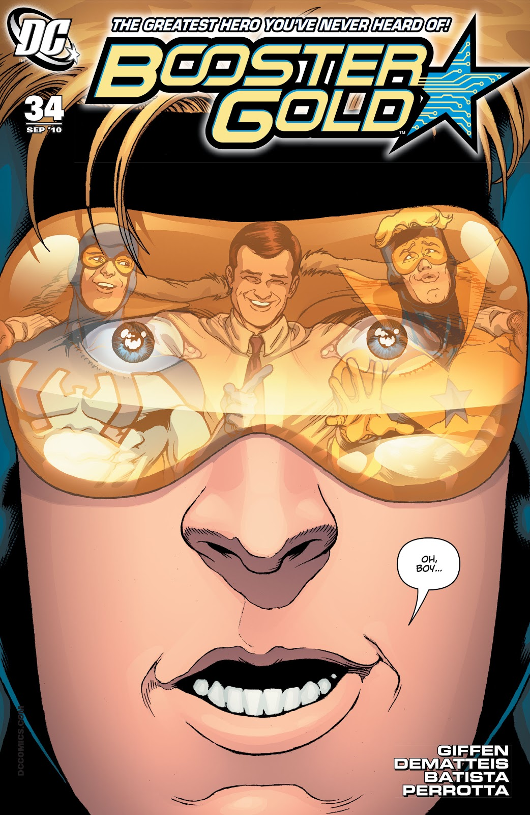 Booster Gold (2007) issue 34 - Page 1
