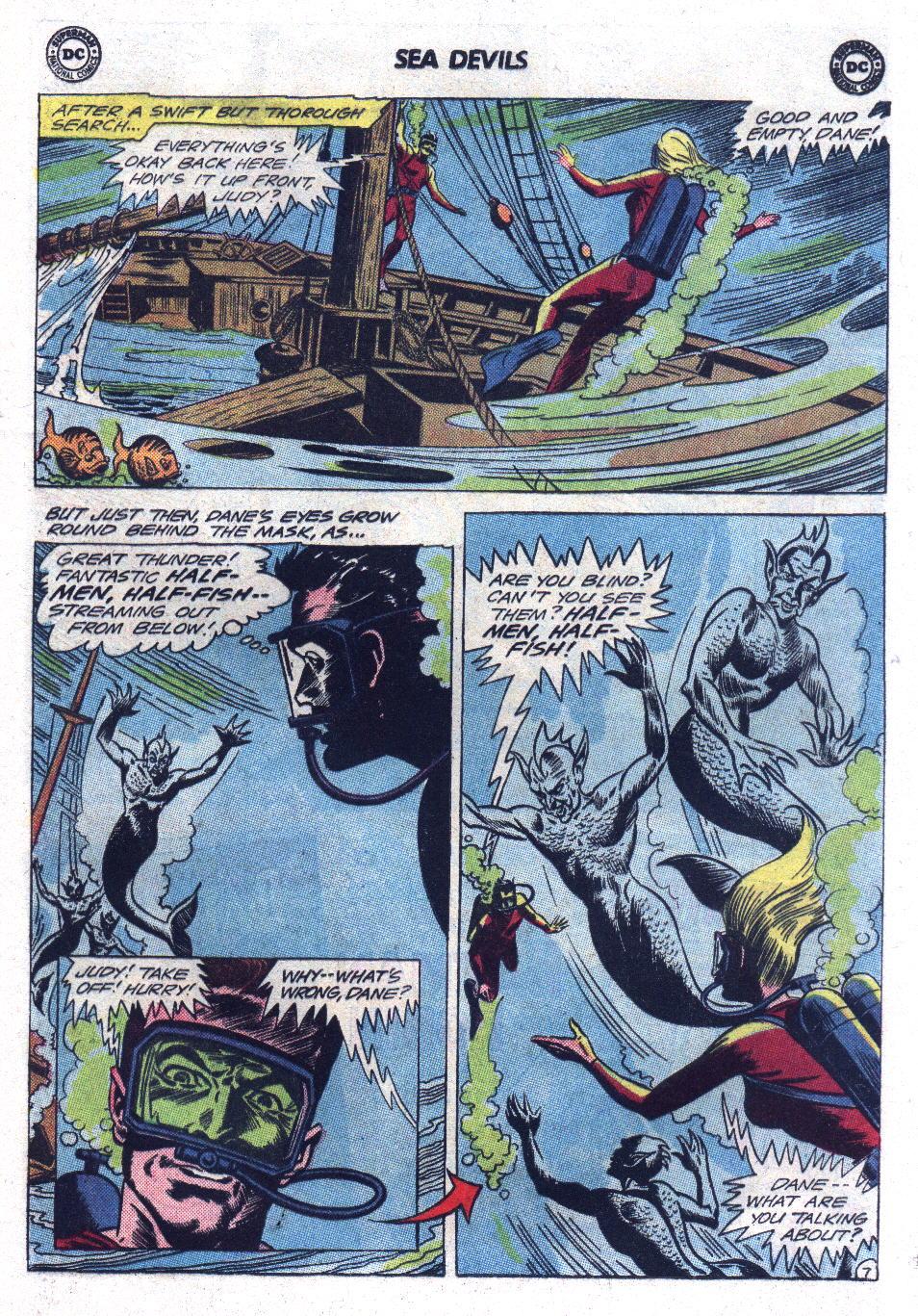 Read online Sea Devils comic -  Issue #17 - 9