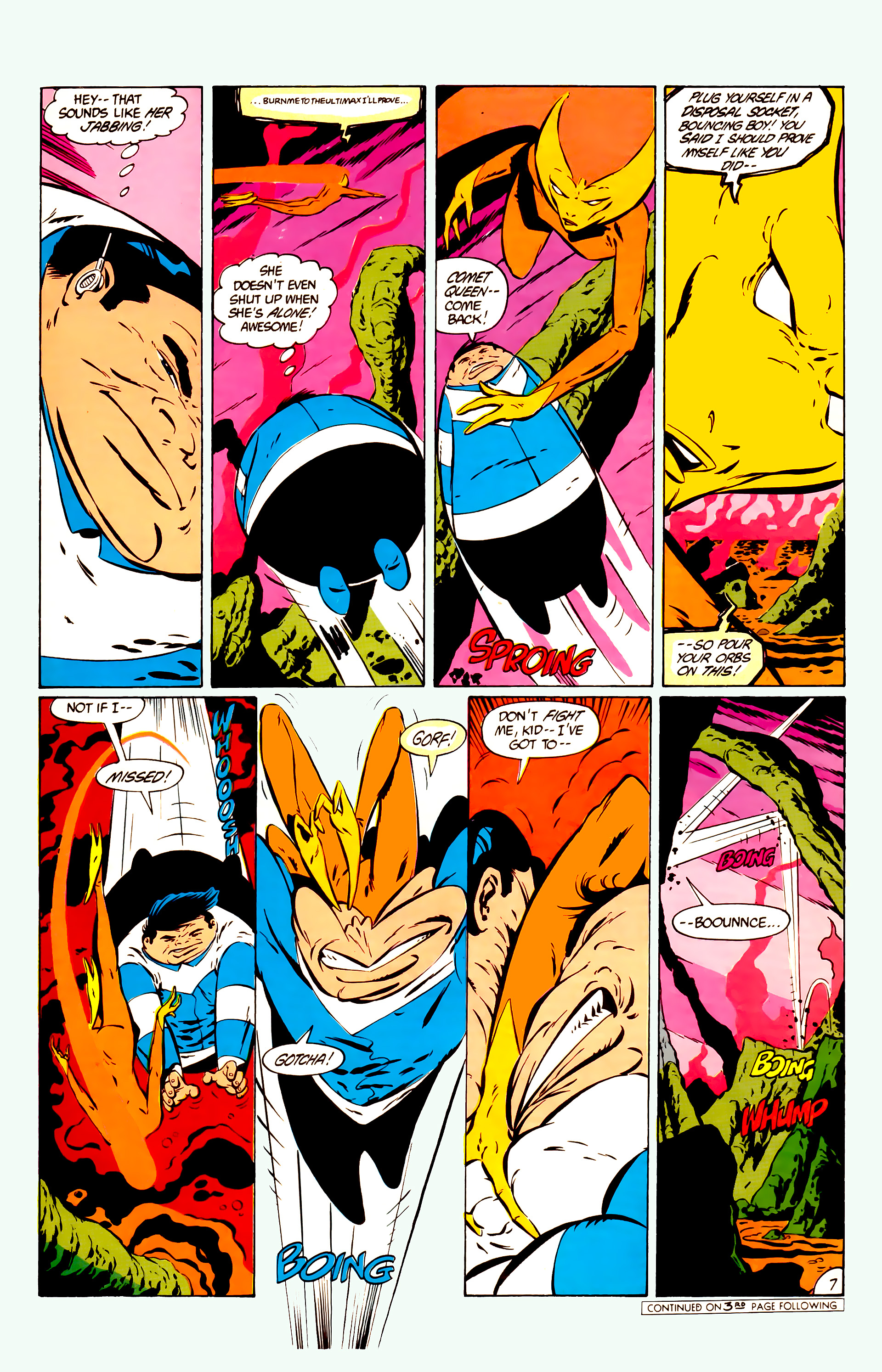 Legion of Super-Heroes (1984) 11 Page 20