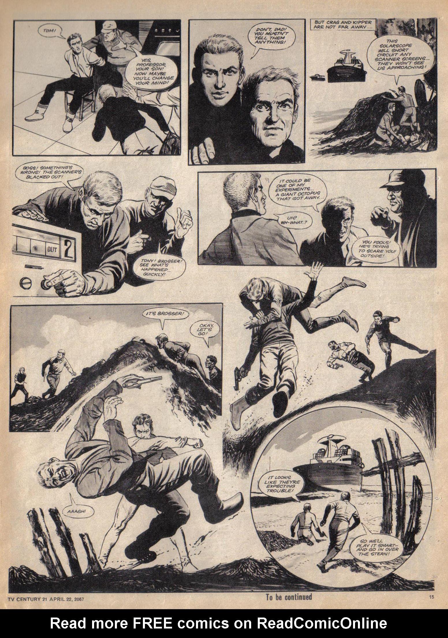 Read online TV Century 21 (TV 21) comic -  Issue #118 - 14