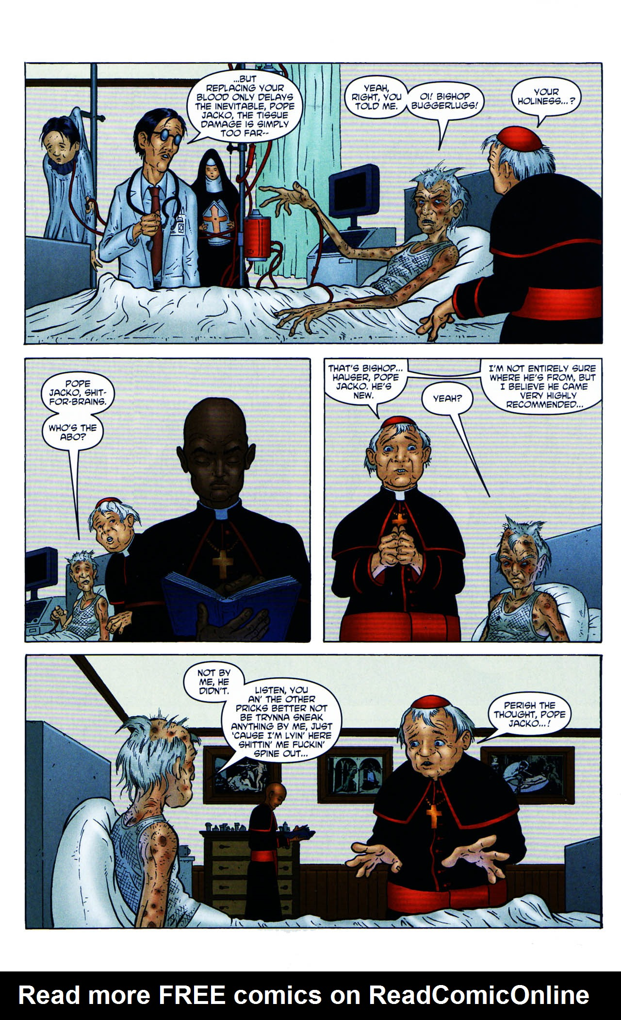 Read online Chronicles of Wormwood: The Last Enemy comic -  Issue # Full - 11