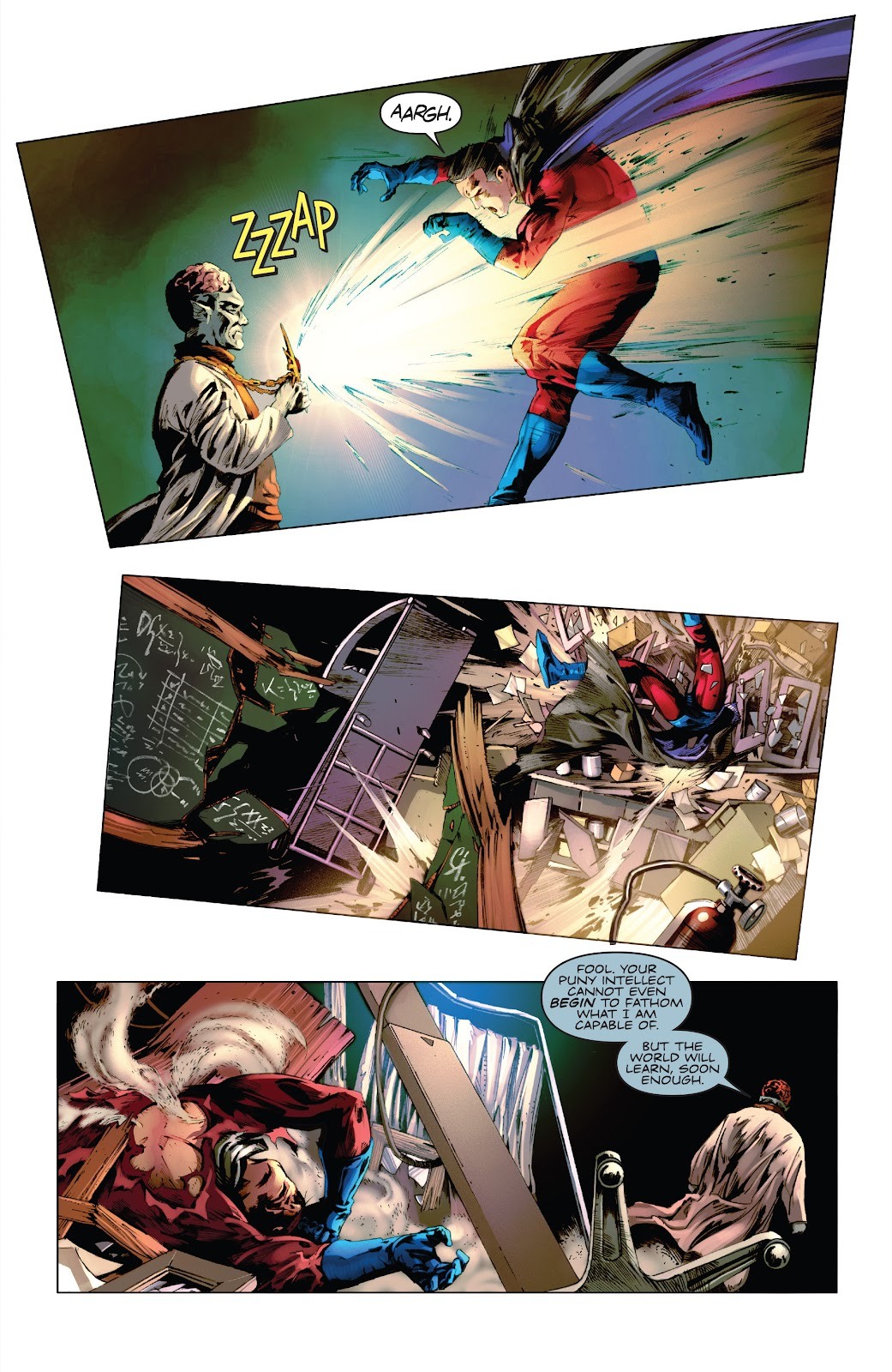 Read online Codename: Action comic -  Issue #5 - 6