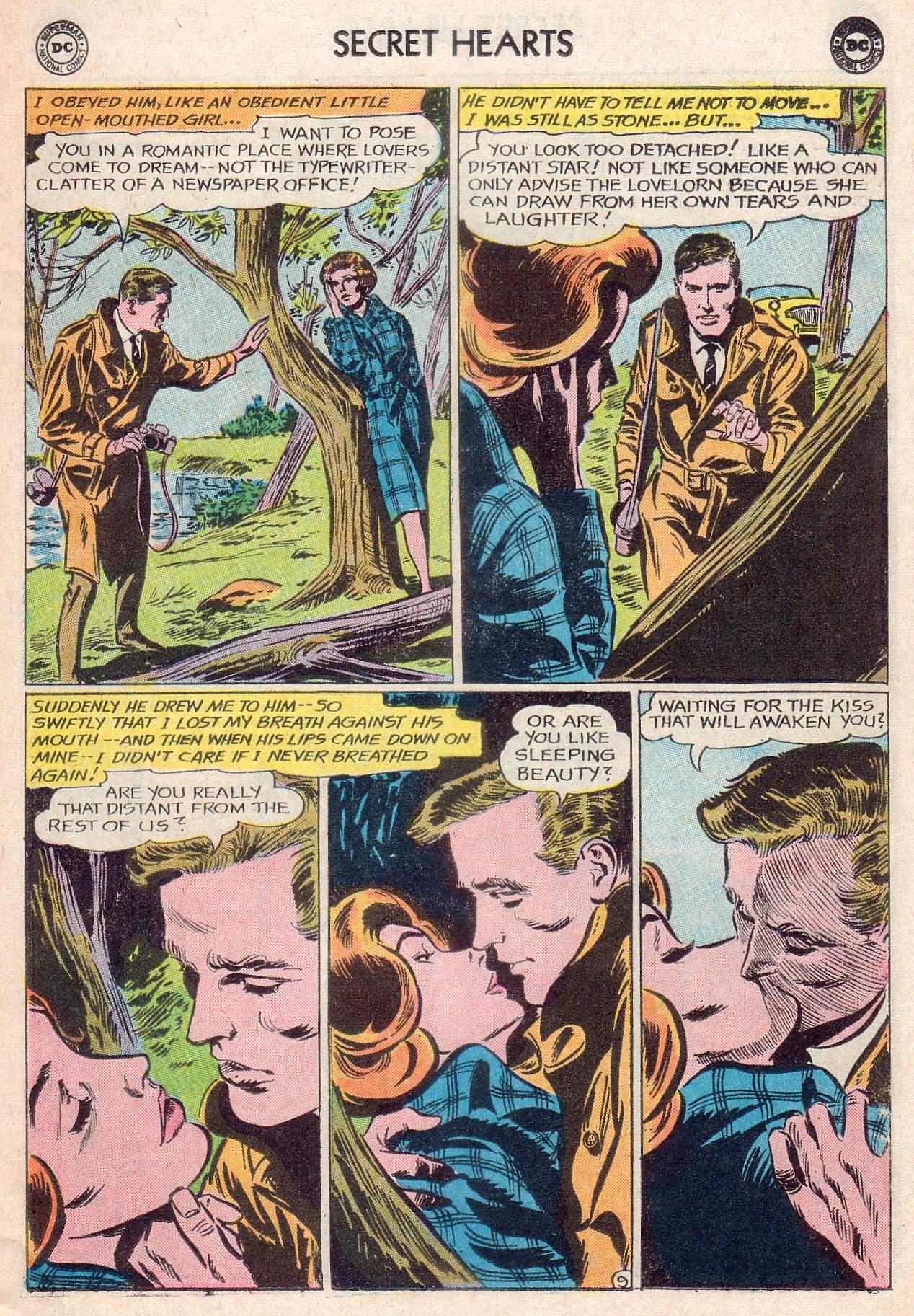 Read online Secret Hearts comic -  Issue #107 - 11