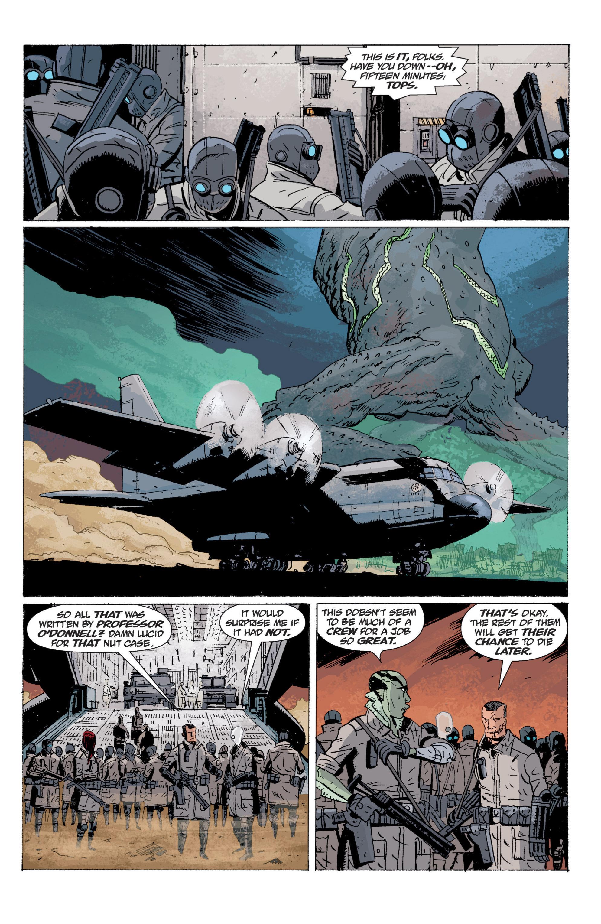 Read online B.P.R.D. (2003) comic -  Issue # TPB 5 - 138