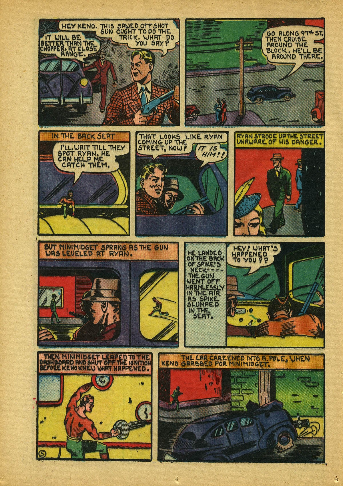 Read online Amazing Man Comics comic -  Issue #22 - 29