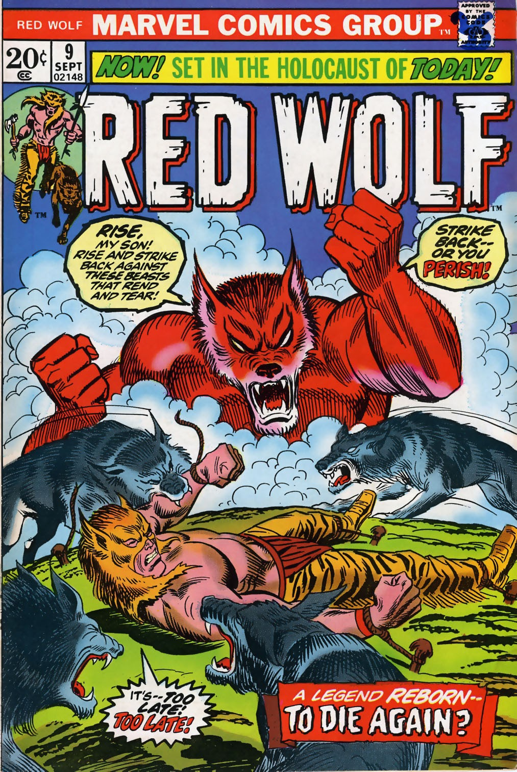 Red Wolf (1972) issue 9 - Page 1