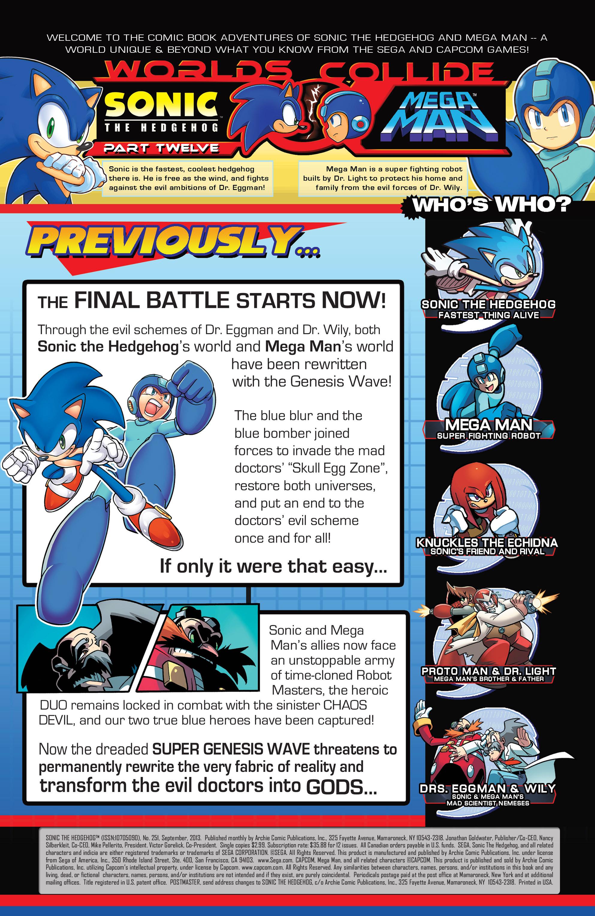 Read online Sonic Mega Man Worlds Collide comic -  Issue # Vol 3 - 95