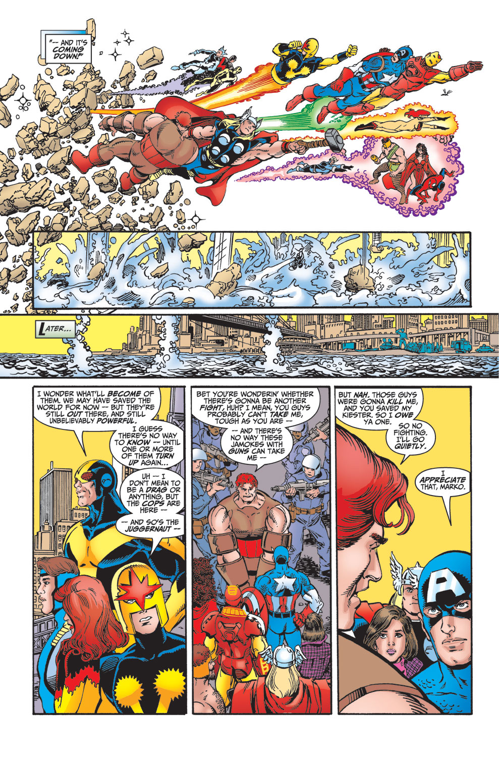 Read online Avengers (1998) comic -  Issue #25 - 36