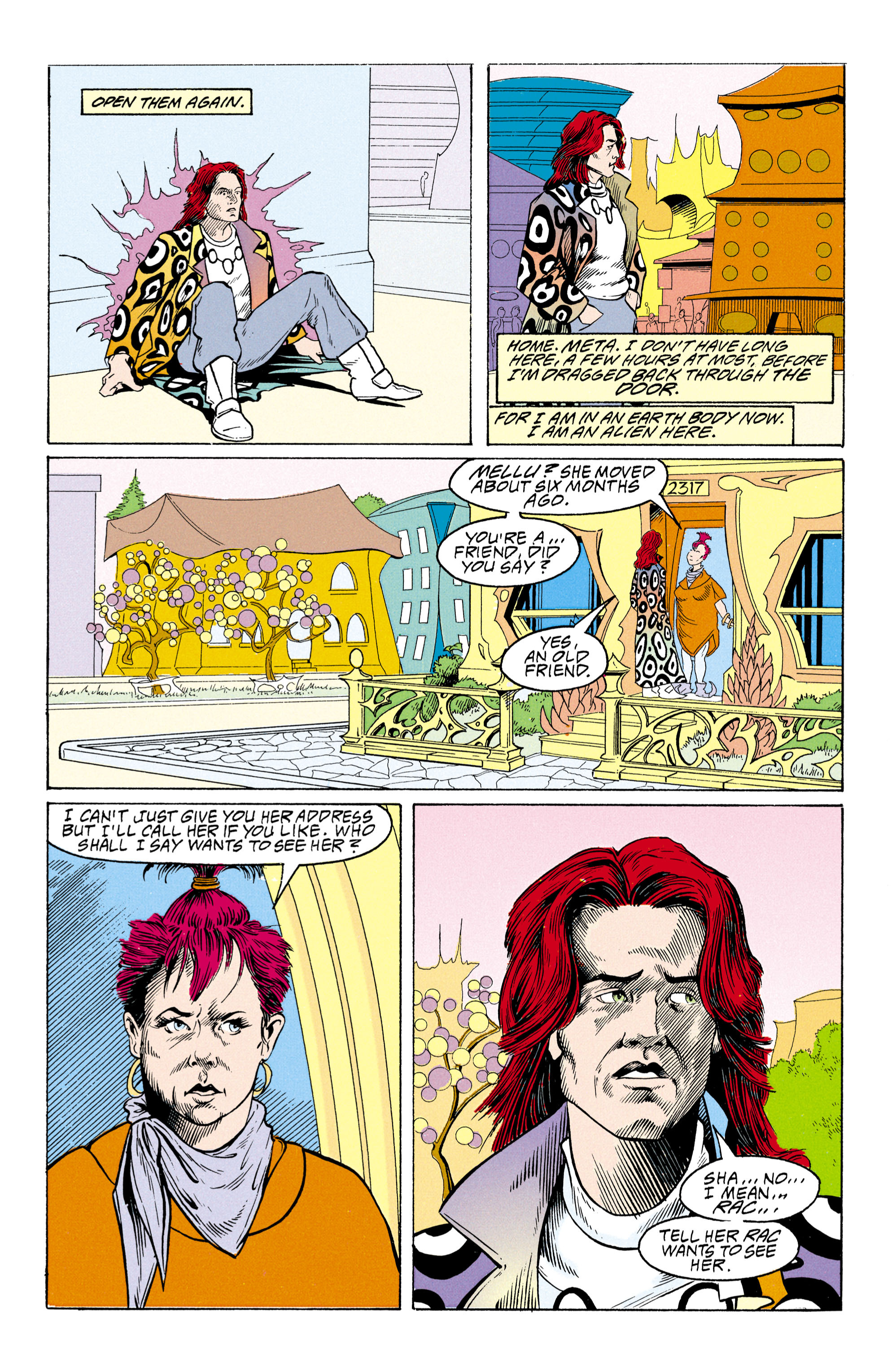 Read online Shade, the Changing Man comic -  Issue #30 - 9