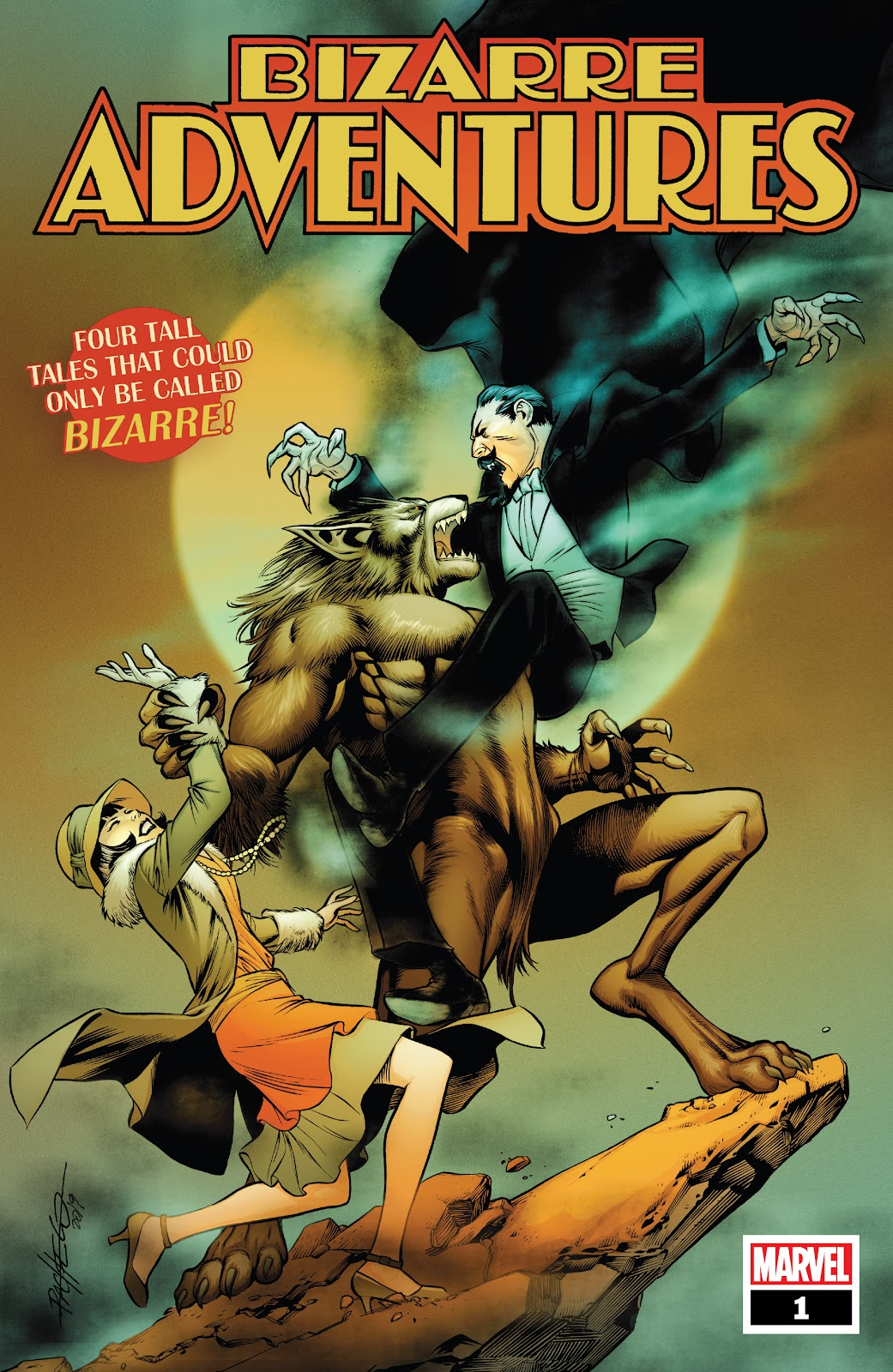 Read online Bizarre Adventures (2019) comic -  Issue # Full - 1