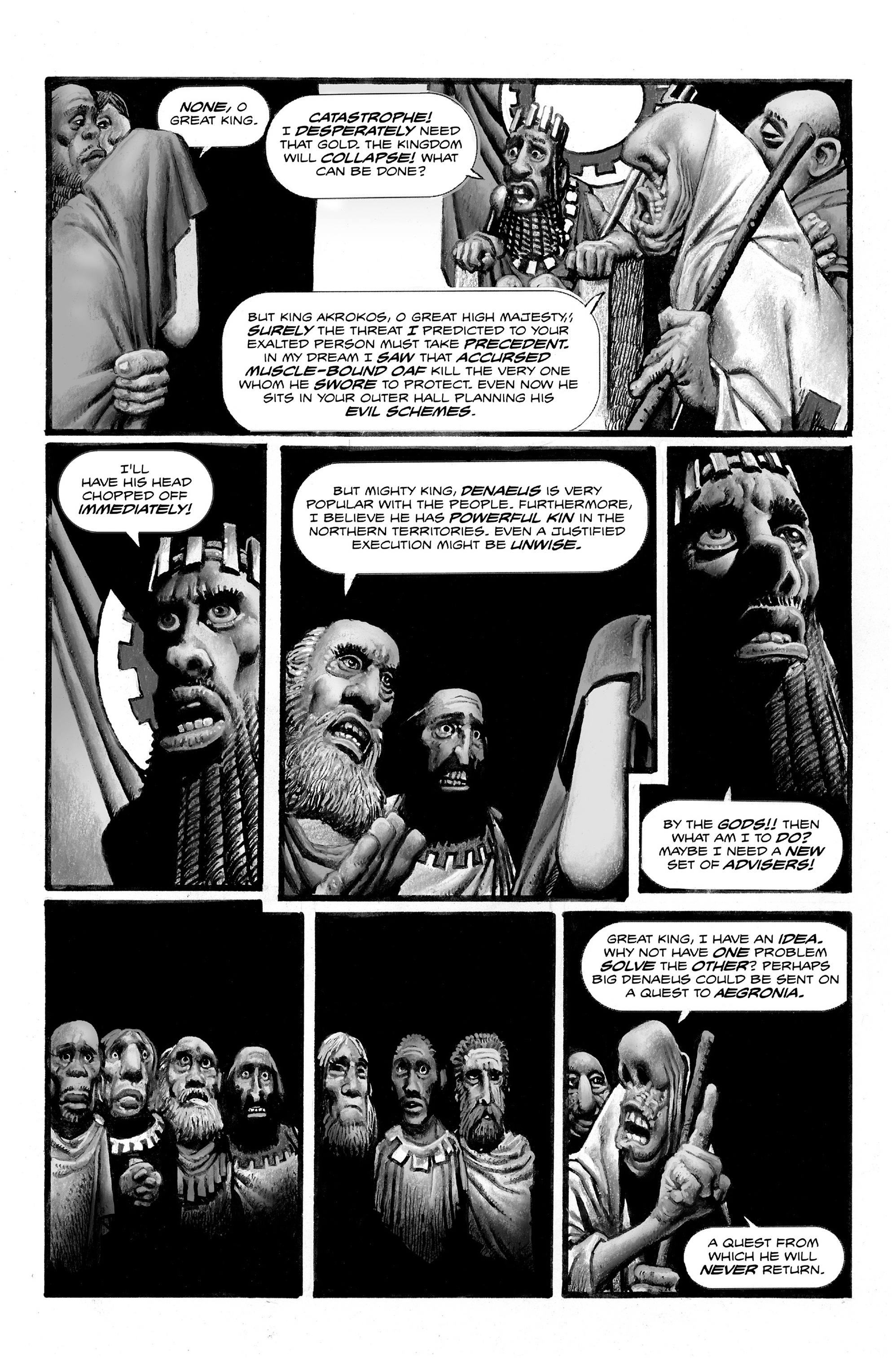 Read online Shadows on the Grave comic -  Issue #2 - 31