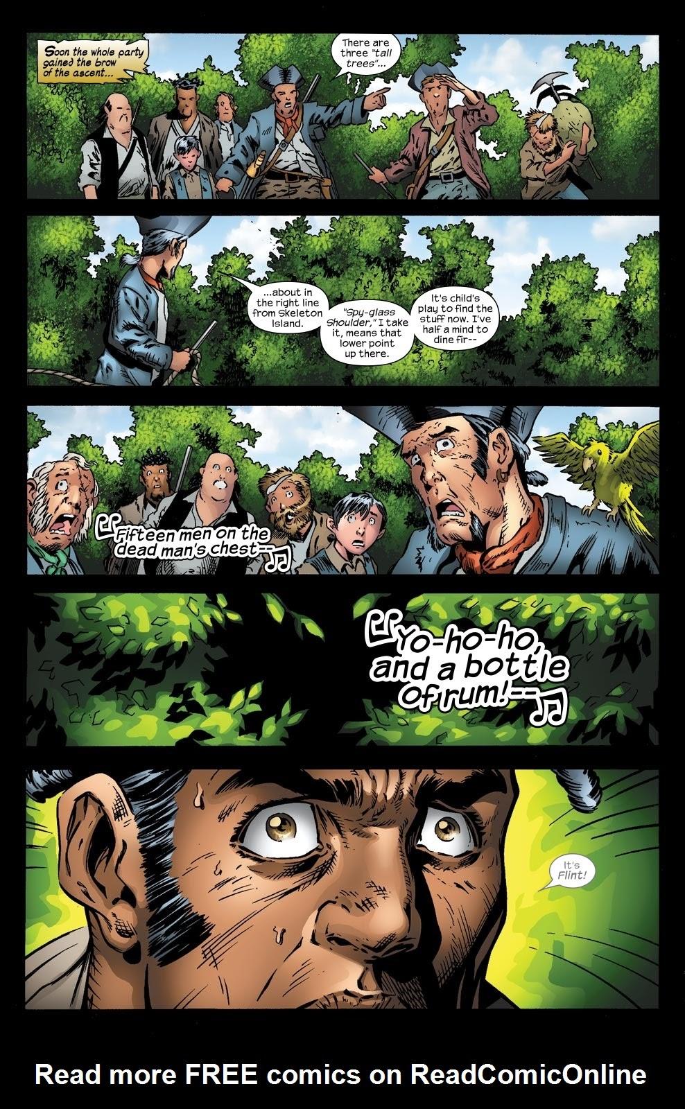 Read online Treasure Island comic -  Issue #5 - 24