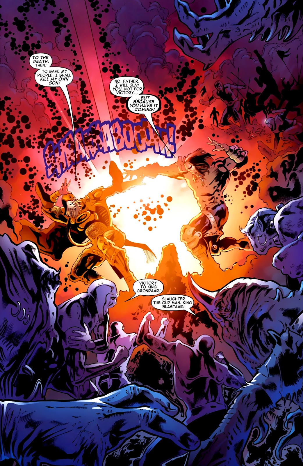 War of Kings: Warriors Issue #1 #1 - English 27