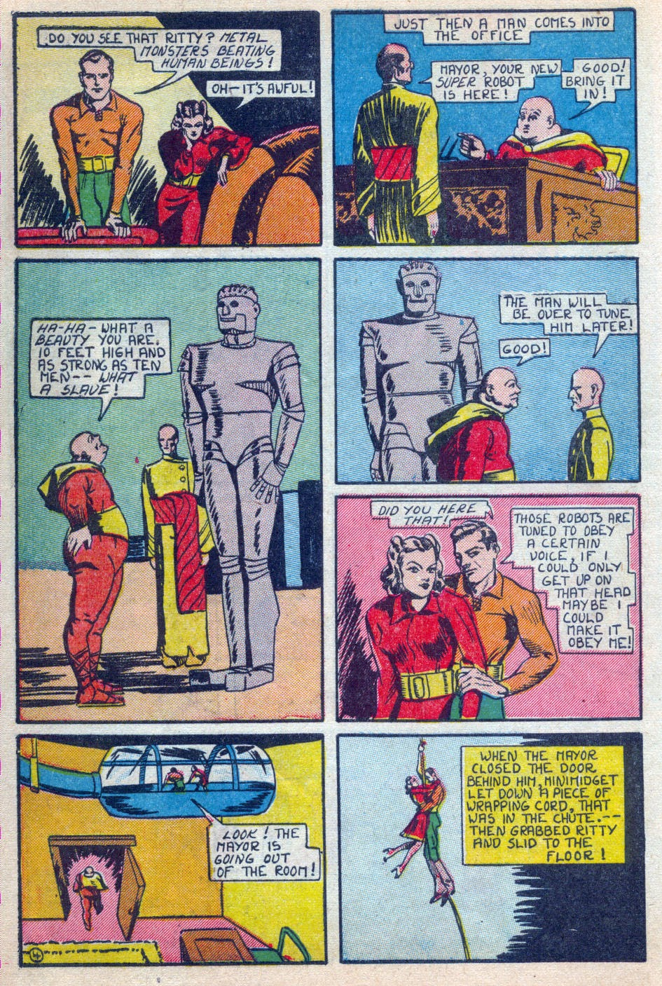 Read online Amazing Man Comics comic -  Issue #15 - 15