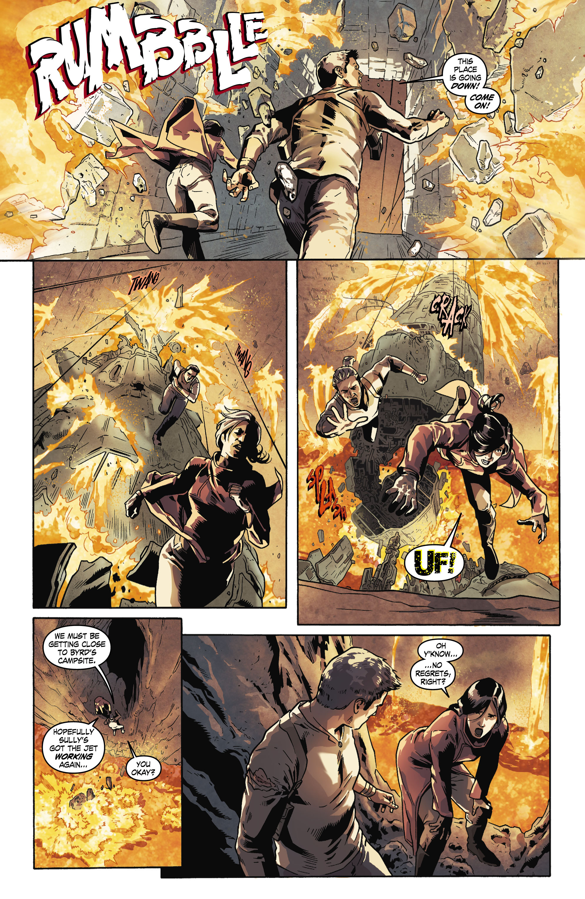 Read online Uncharted comic -  Issue #6 - 8