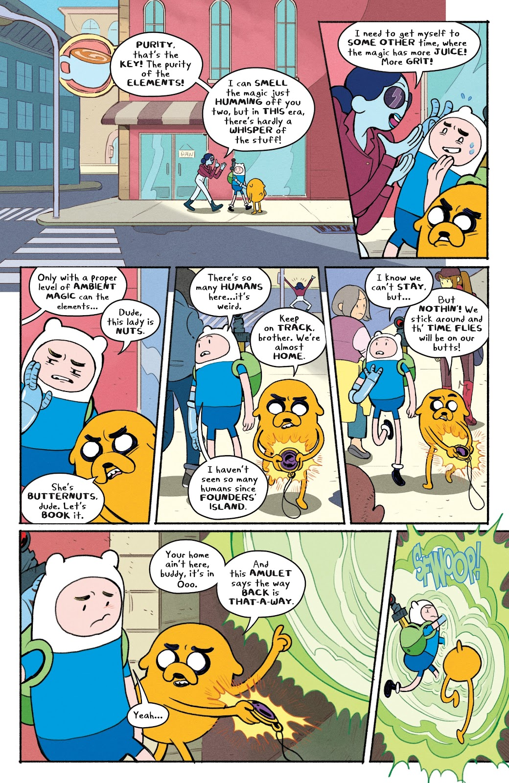 Read online Adventure Time: Beginning of the End comic -  Issue # _TPB - 90