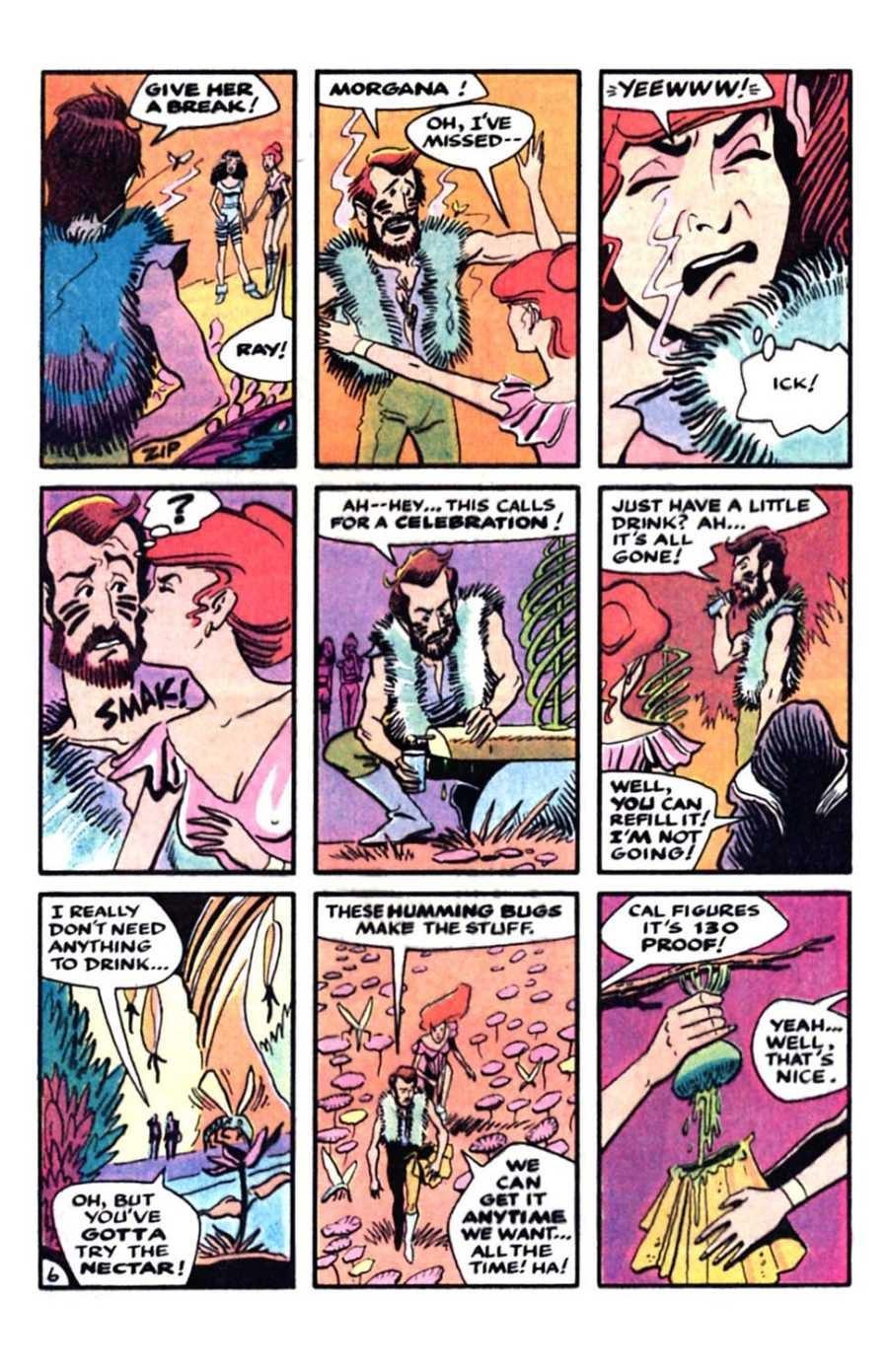 Read online Mars comic -  Issue #5 - 8