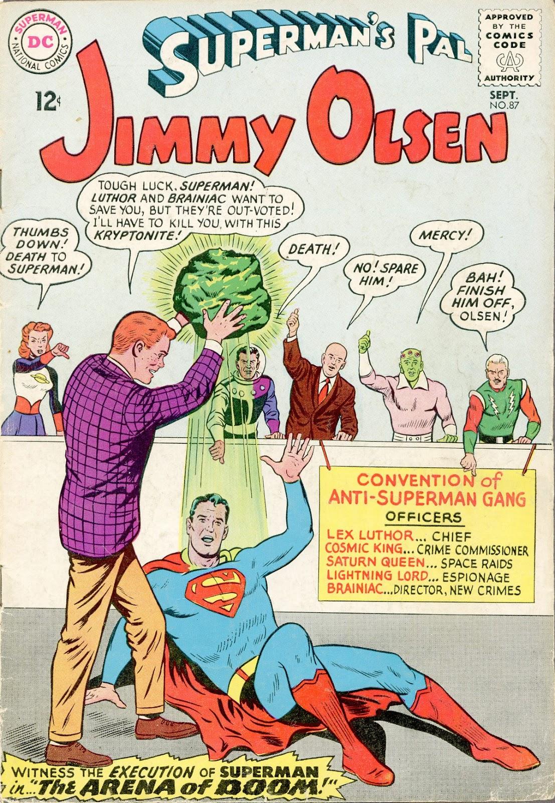 Supermans Pal Jimmy Olsen (1954) 87 Page 1