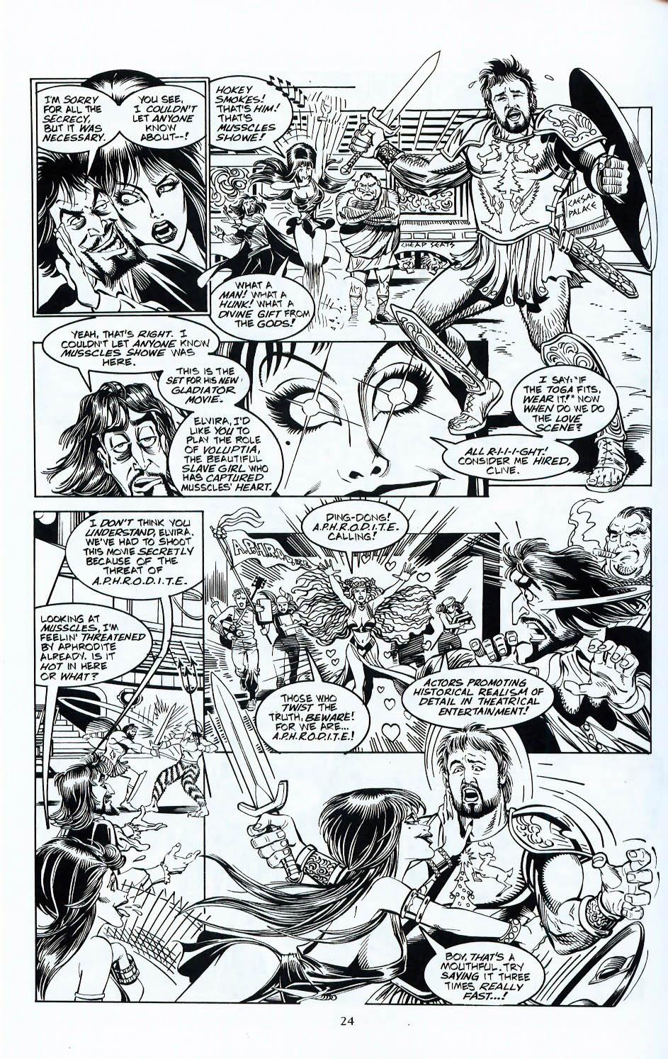 Read online Elvira, Mistress of the Dark comic -  Issue #117 - 21