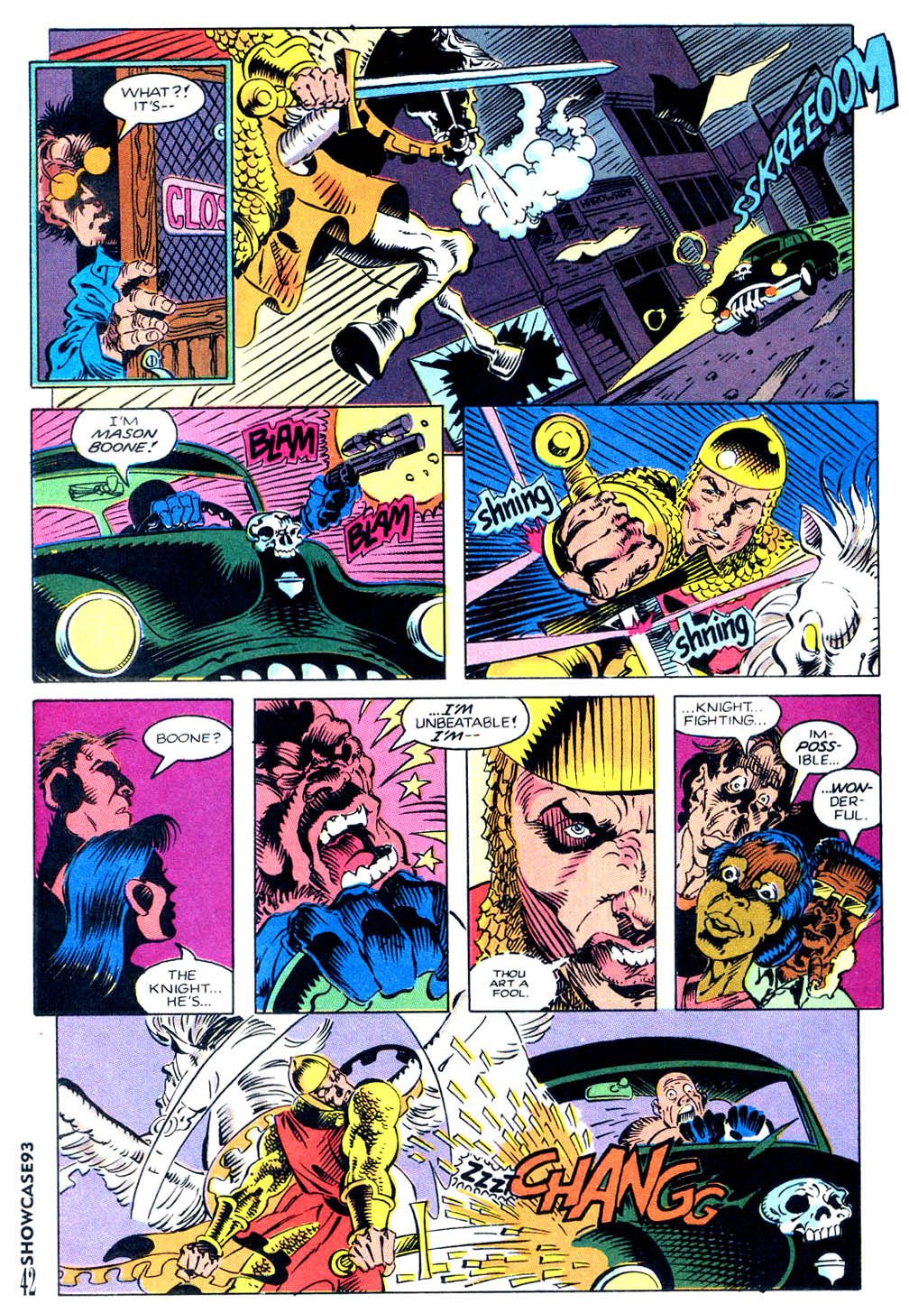 Read online Showcase '93 comic -  Issue #9 - 36
