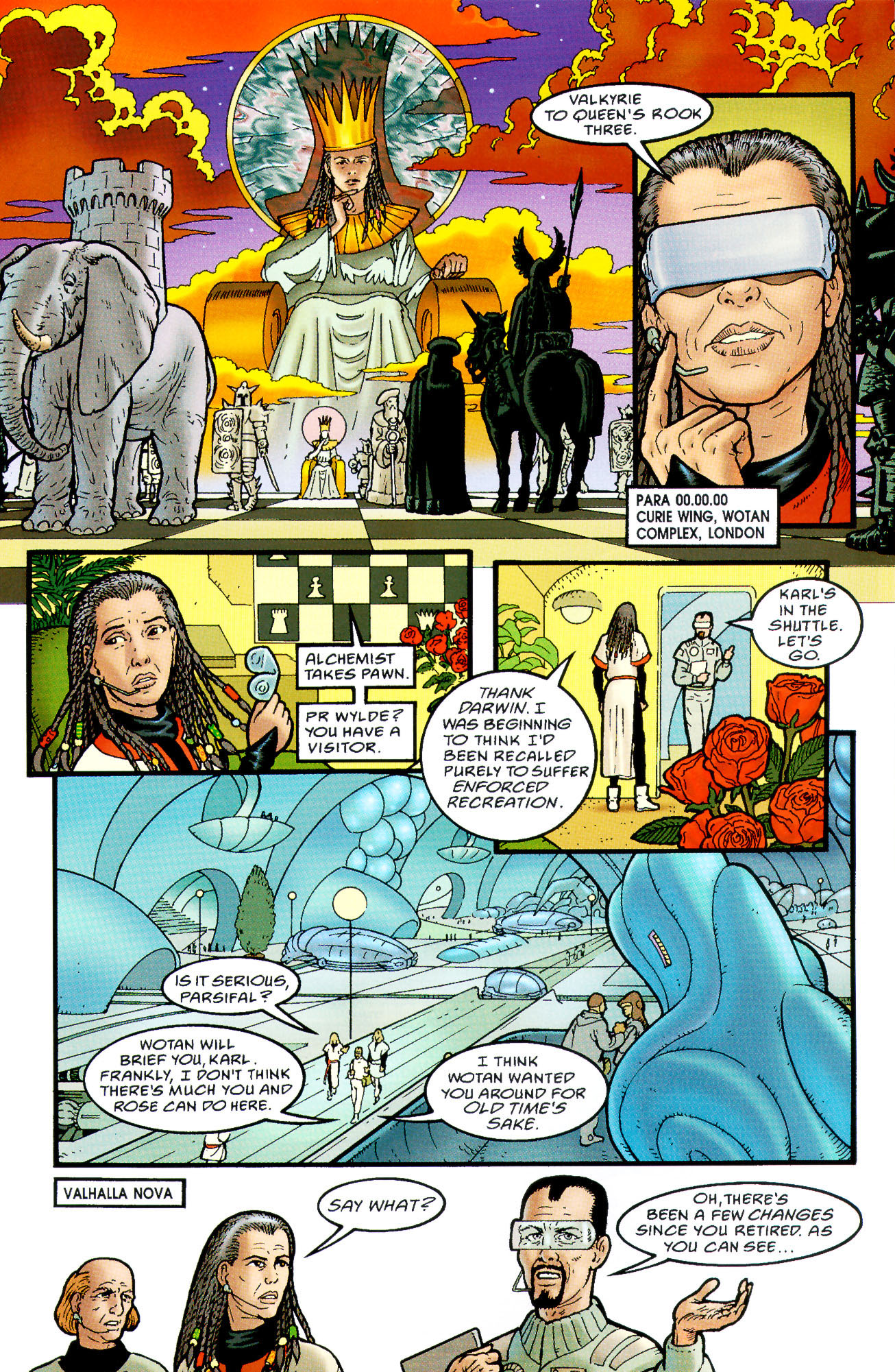 Read online Heart of Empire comic -  Issue #3 - 15