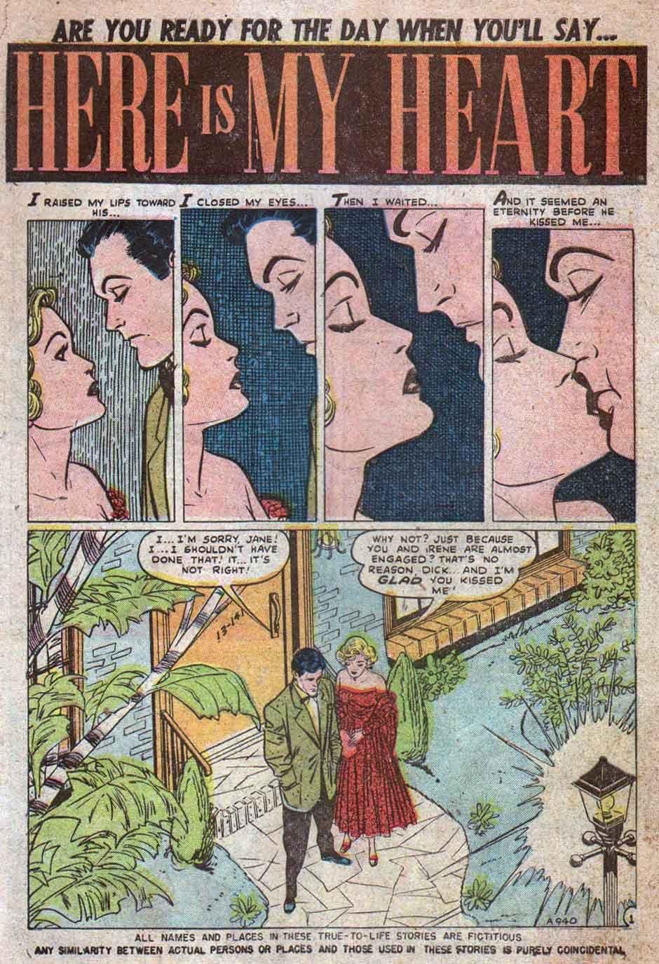 Love Romances (1949) issue 25 - Page 2