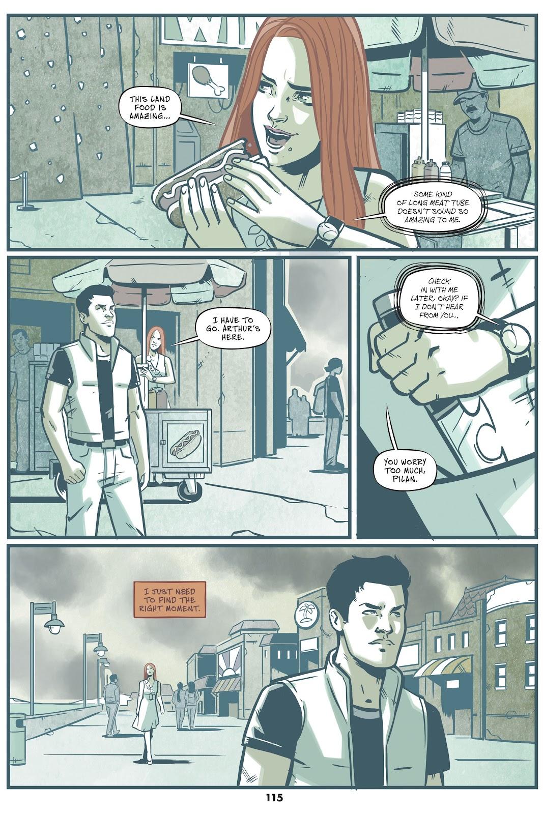Read online Mera: Tidebreaker comic -  Issue # TPB (Part 2) - 15