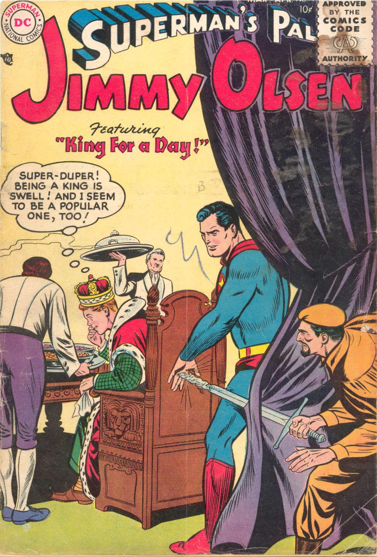 Supermans Pal Jimmy Olsen (1954) 4 Page 1