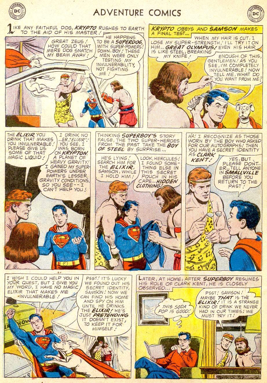 Read online Adventure Comics (1938) comic -  Issue #257 - 6