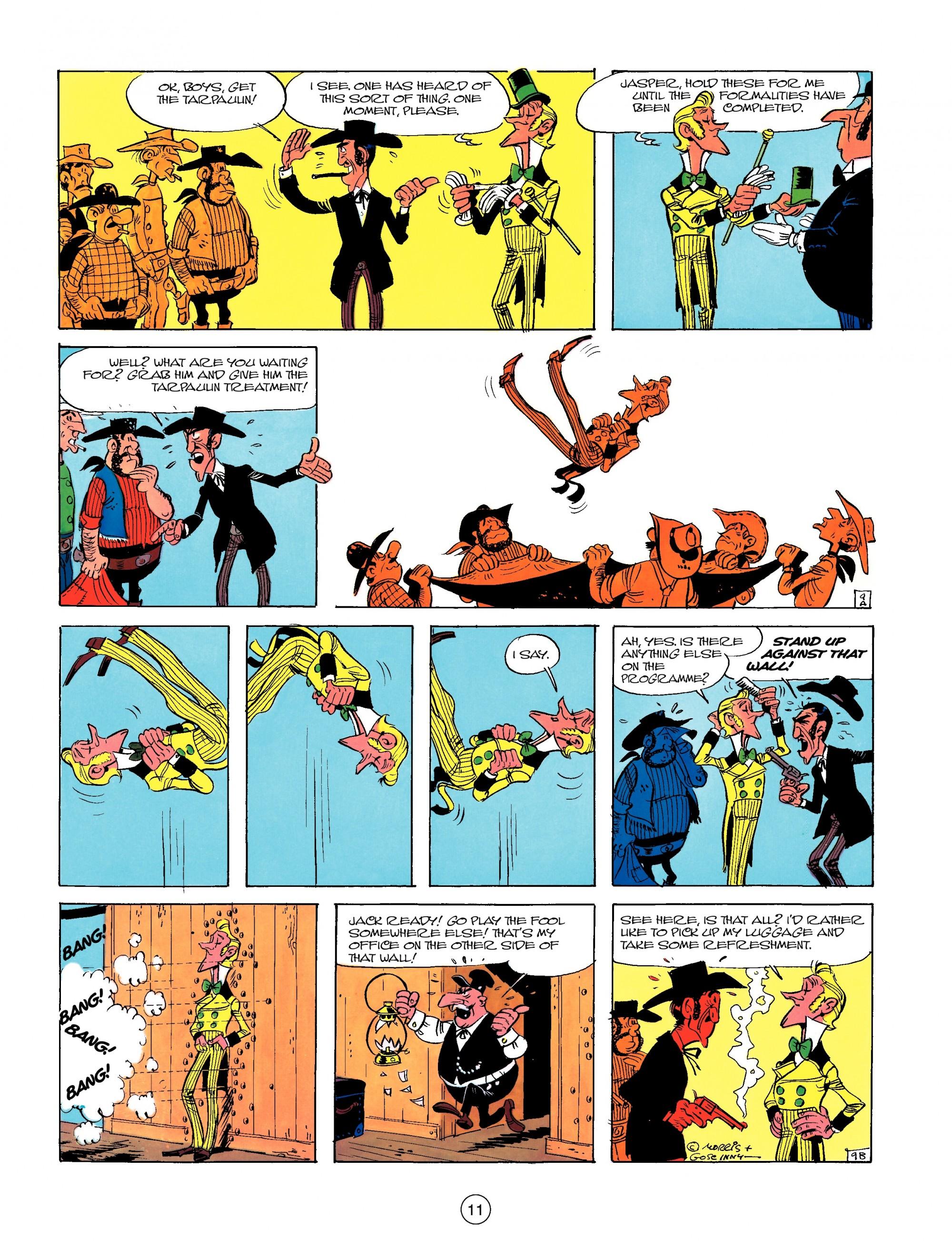 Read online A Lucky Luke Adventure comic -  Issue #13 - 11