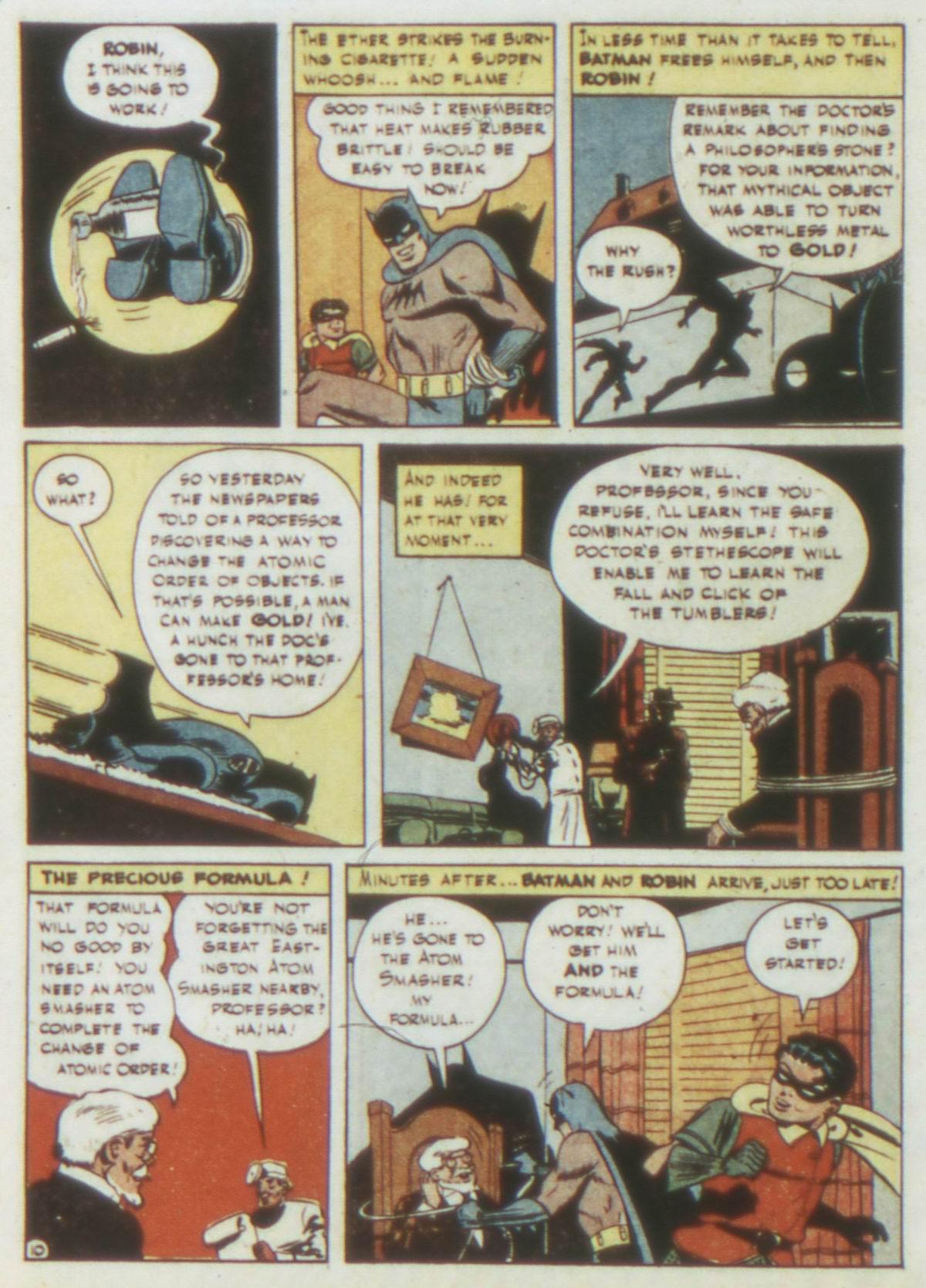 Read online Detective Comics (1937) comic -  Issue #77 - 12