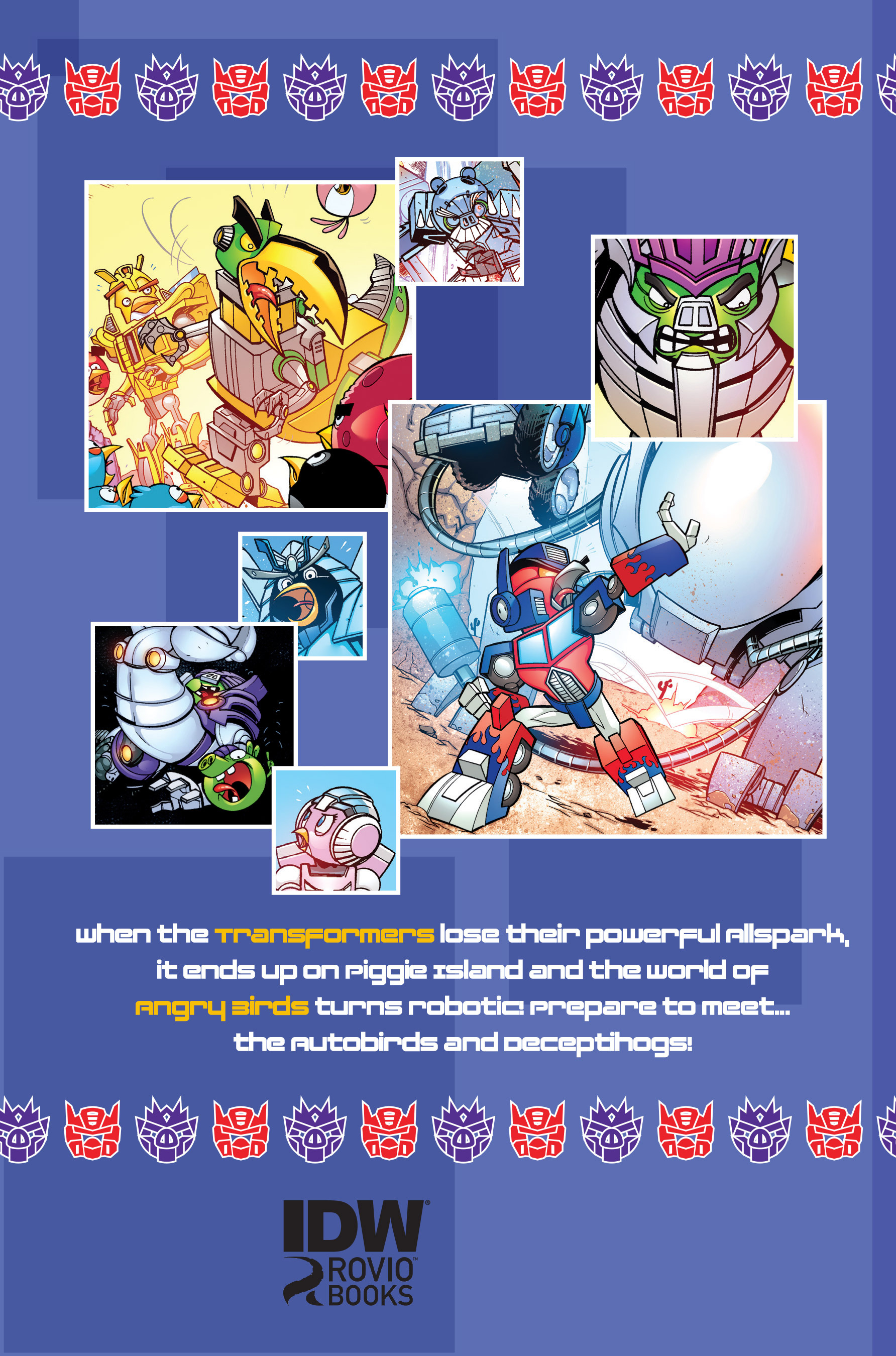 Read online Angry Birds Transformers: Age of Eggstinction comic -  Issue # Full - 93