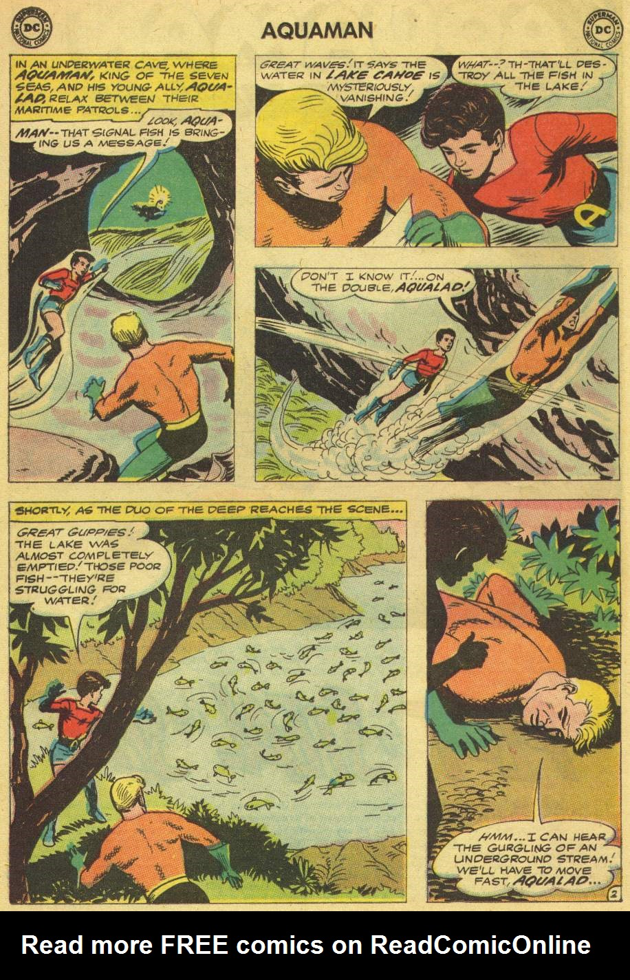 Read online Aquaman (1962) comic -  Issue #8 - 4