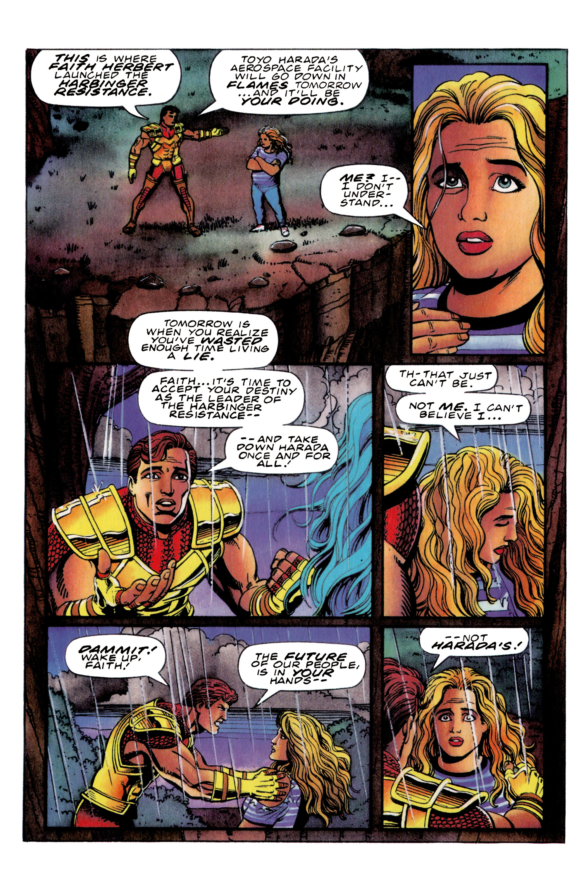 Read online Harbinger (1992) comic -  Issue #36 - 12