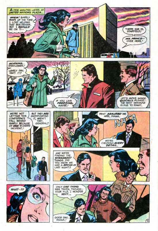 Read online Wonder Woman (1942) comic -  Issue #255 - 15