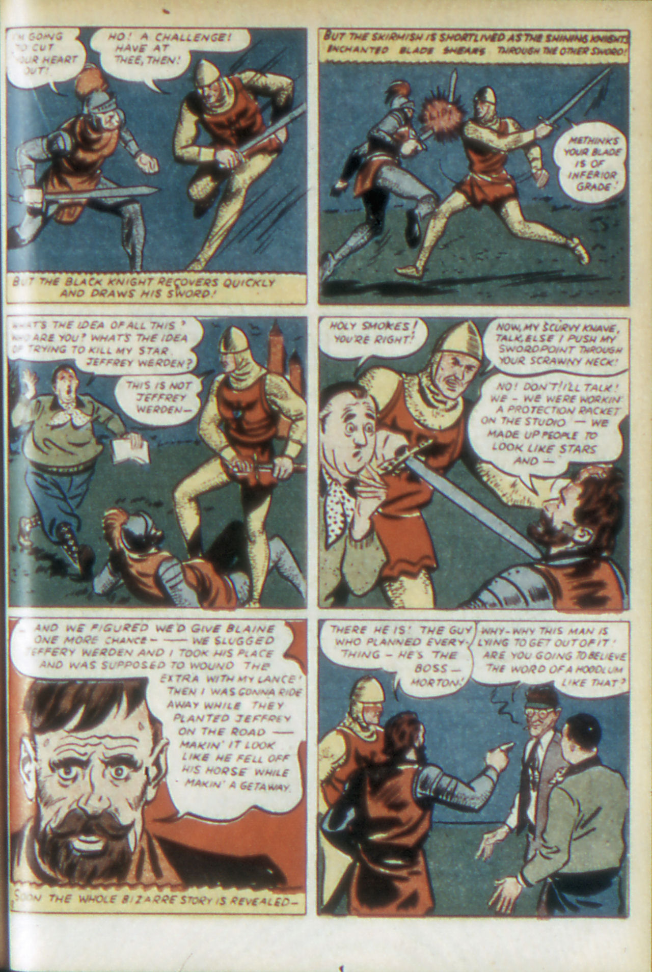 Read online Adventure Comics (1938) comic -  Issue #68 - 28