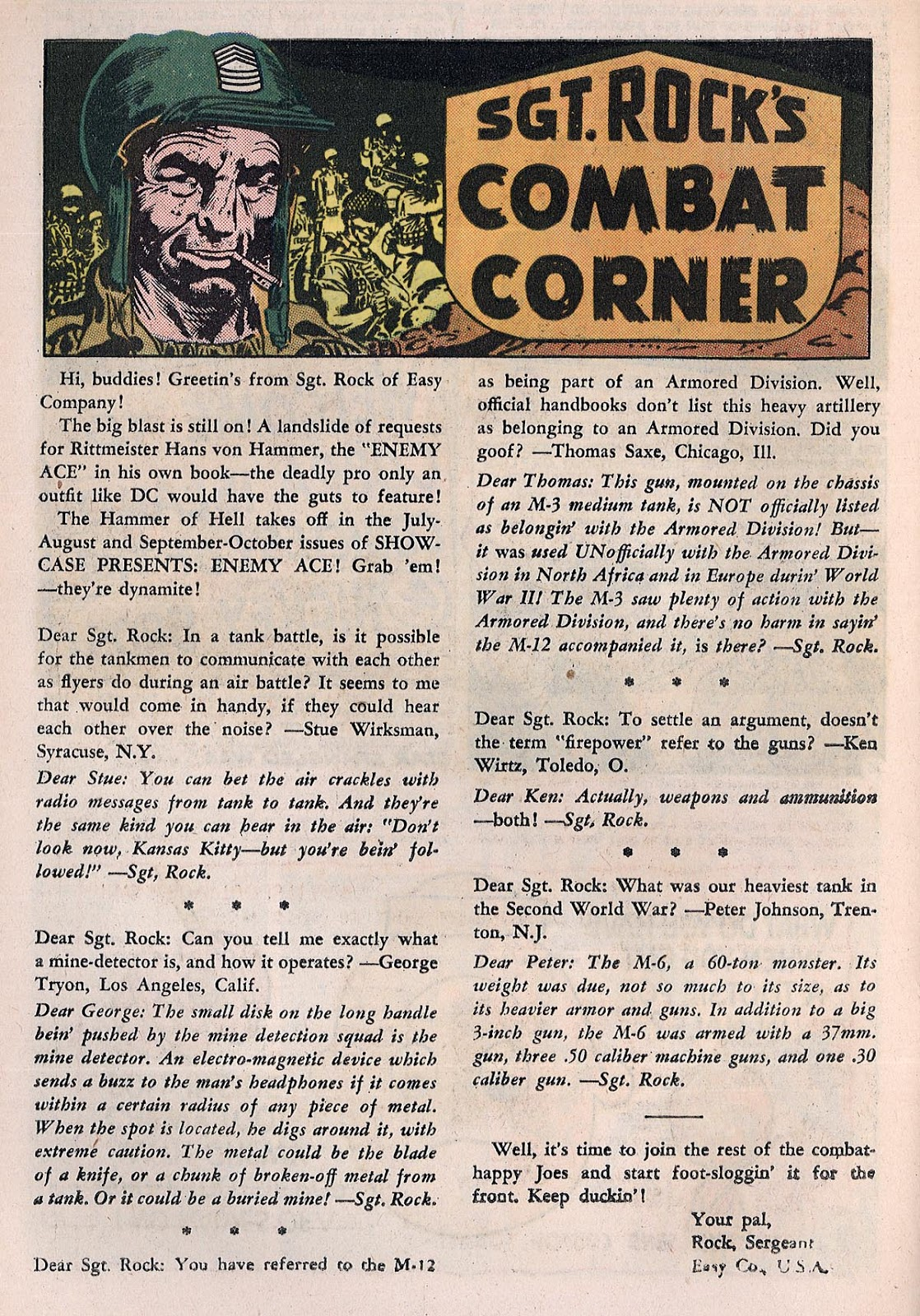 Star Spangled War Stories (1952) issue 122 - Page 22