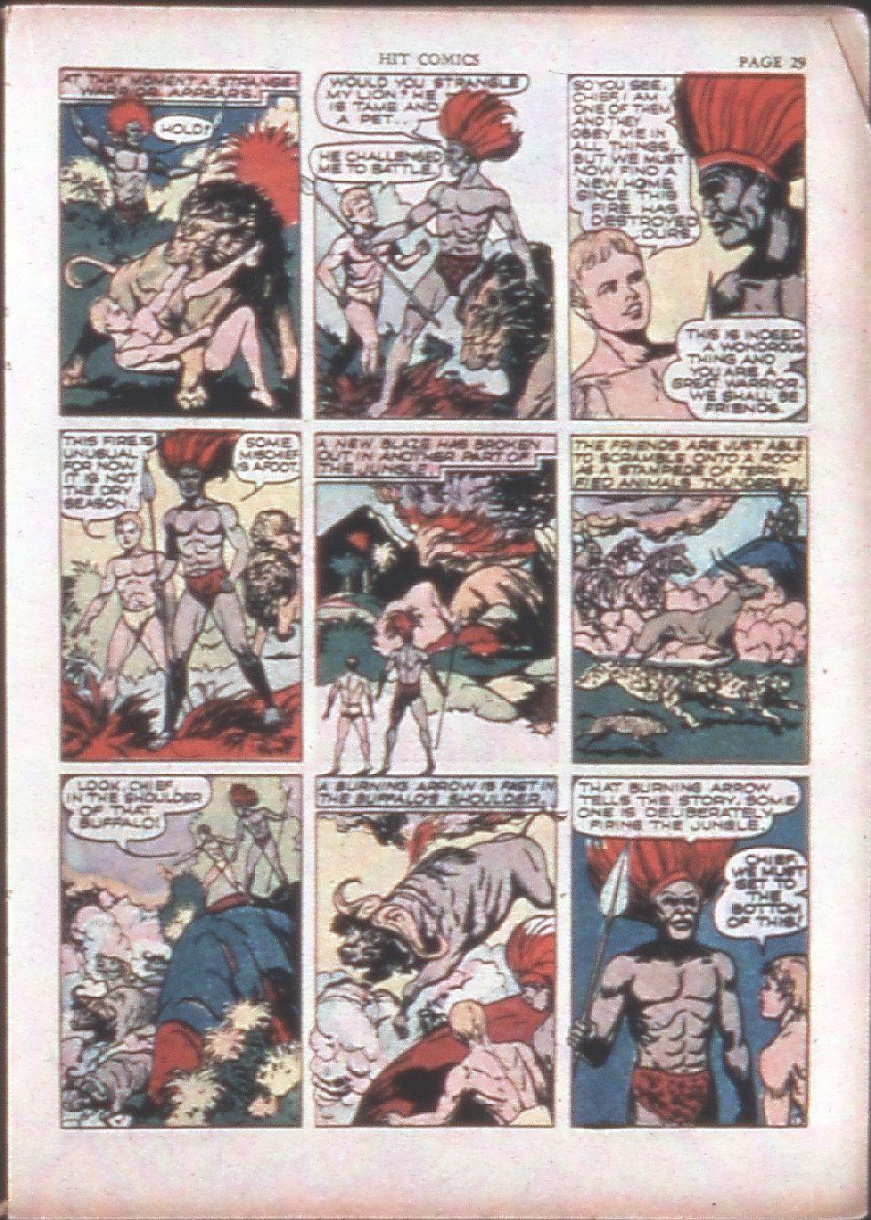 Read online Hit Comics comic -  Issue #15 - 31