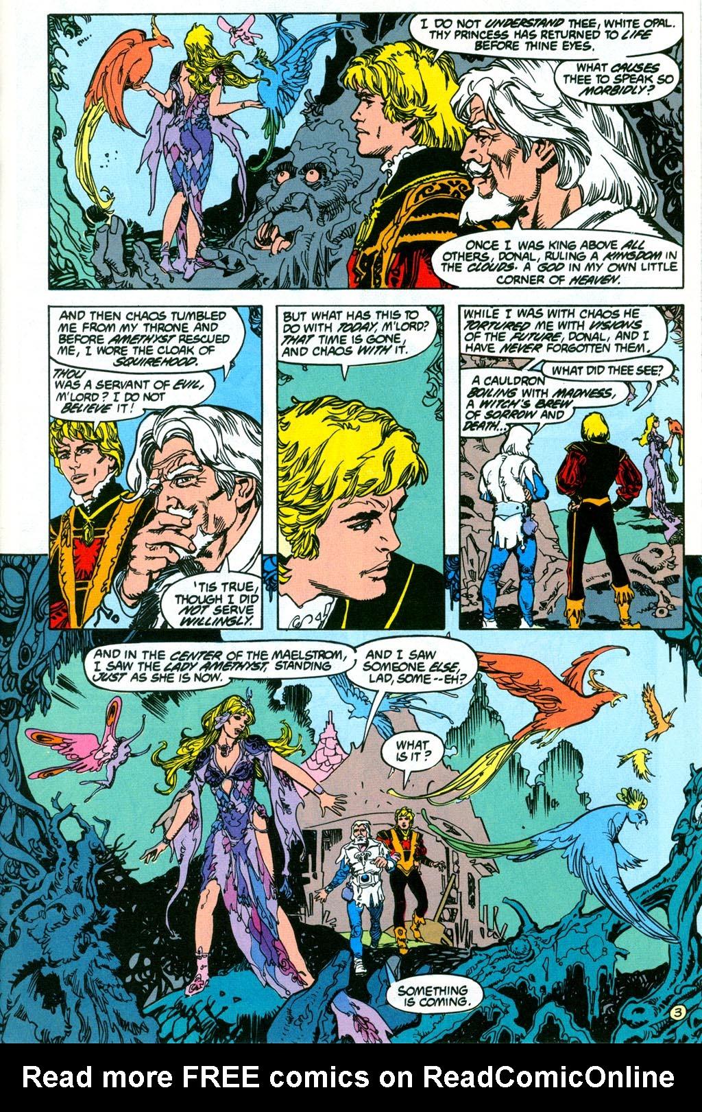 Read online Amethyst (1987) comic -  Issue #2 - 5