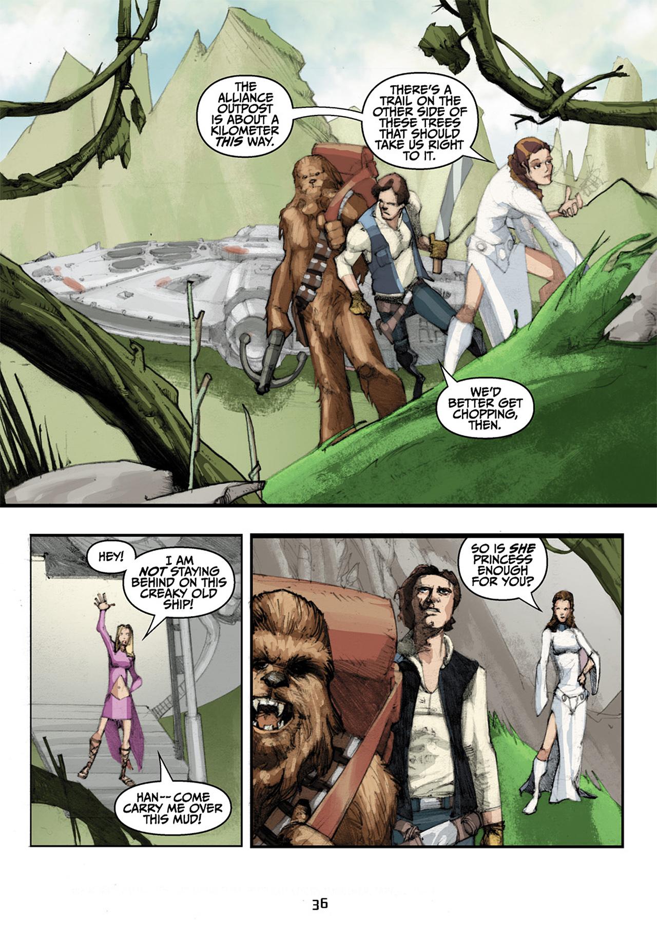Read online Star Wars Omnibus comic -  Issue # Vol. 33 - 118