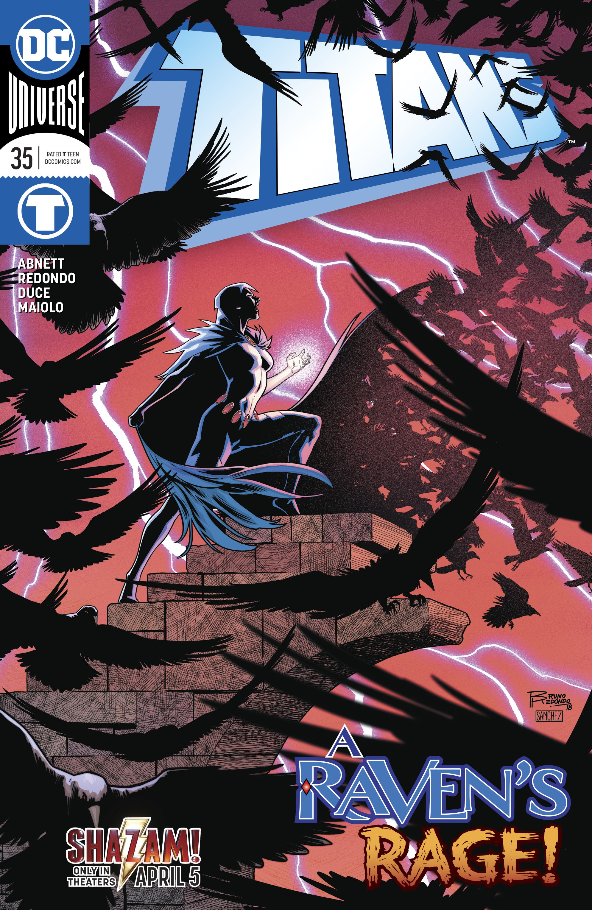 Titans (2016) 35 Page 1