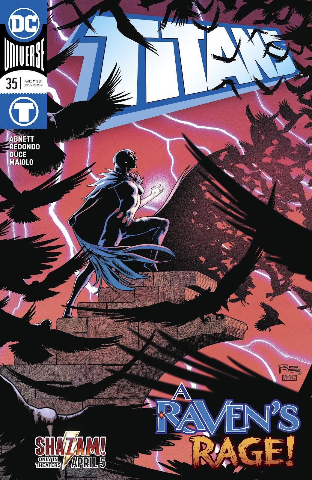 Read online Titans (2016) comic -  Issue #35 - 1