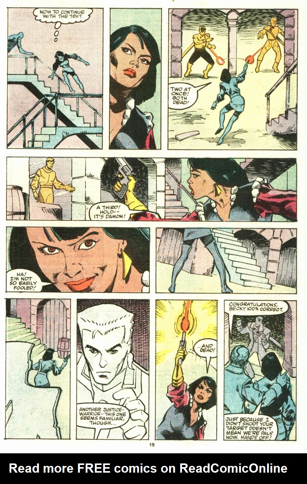 Read online Justice (1986) comic -  Issue #8 - 20