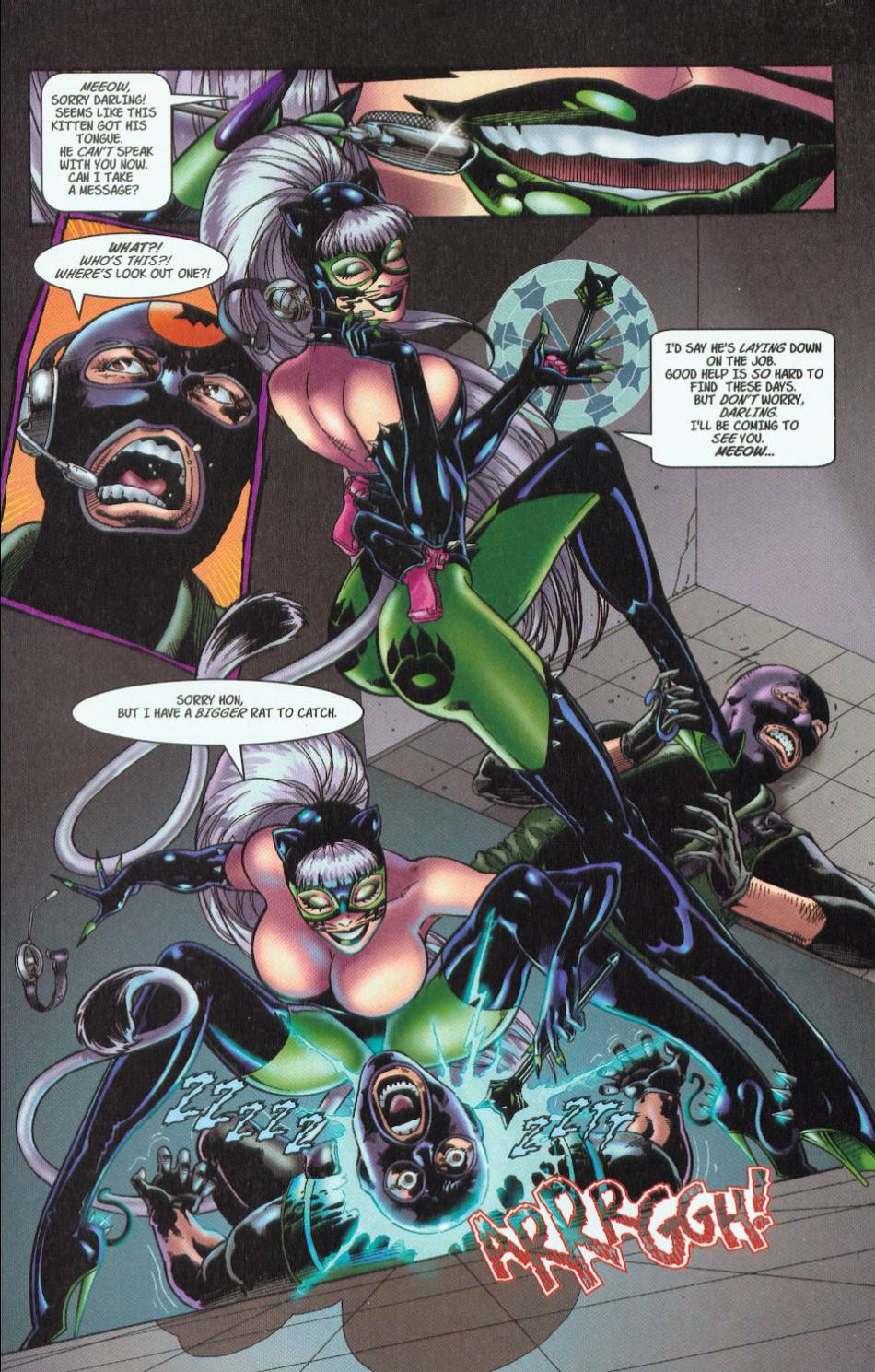 Read online 3 Little Kittens: Purrr-fect Weapons comic -  Issue #1 - 7