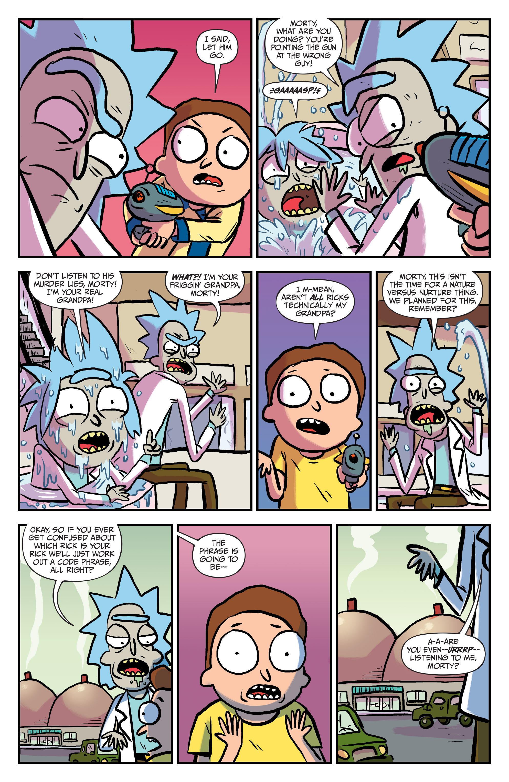 Read online Rick and Morty comic -  Issue #25 - 16